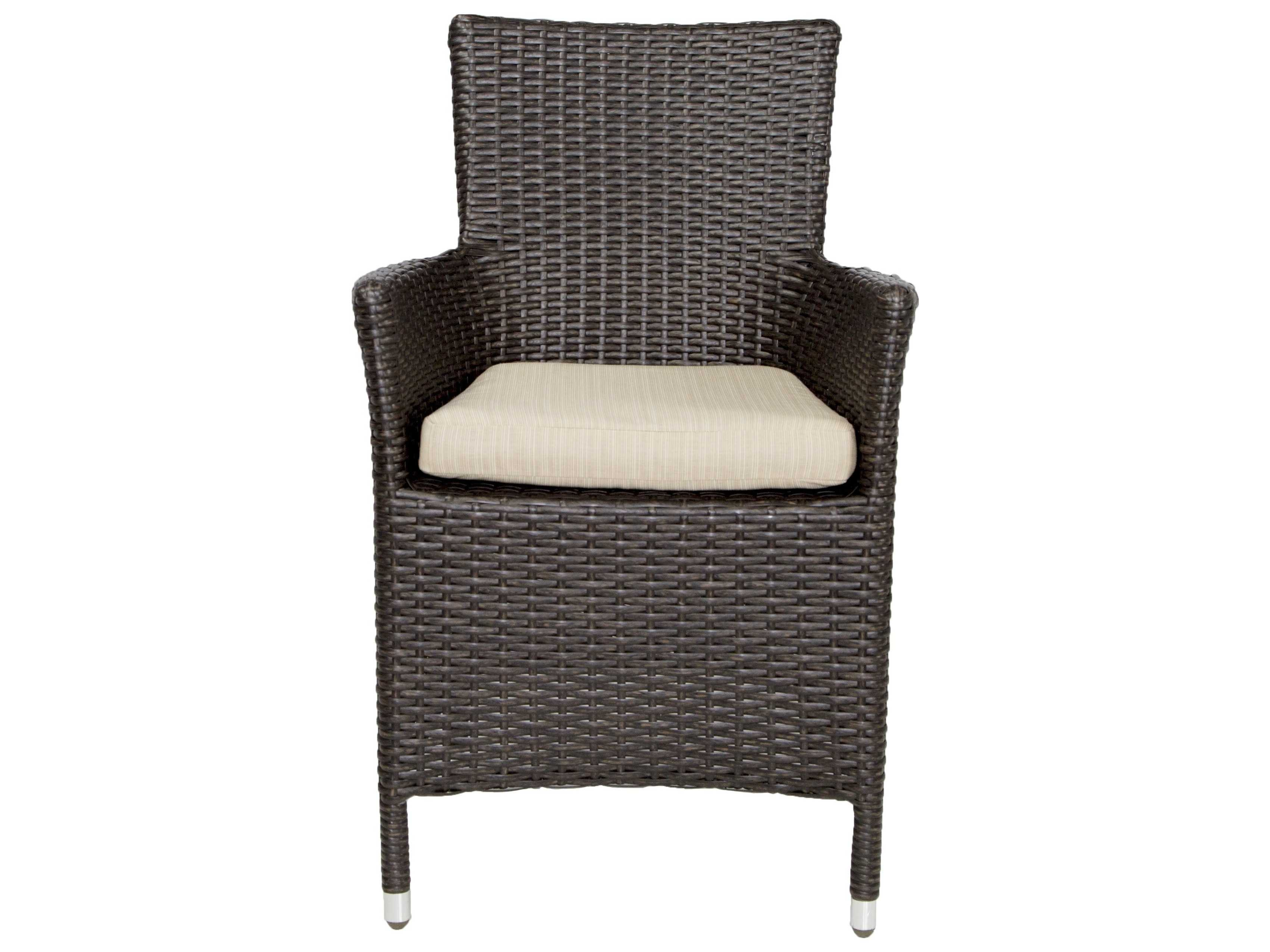 Patio heaven malibu wicker arm chair ph mac for Patio heaven