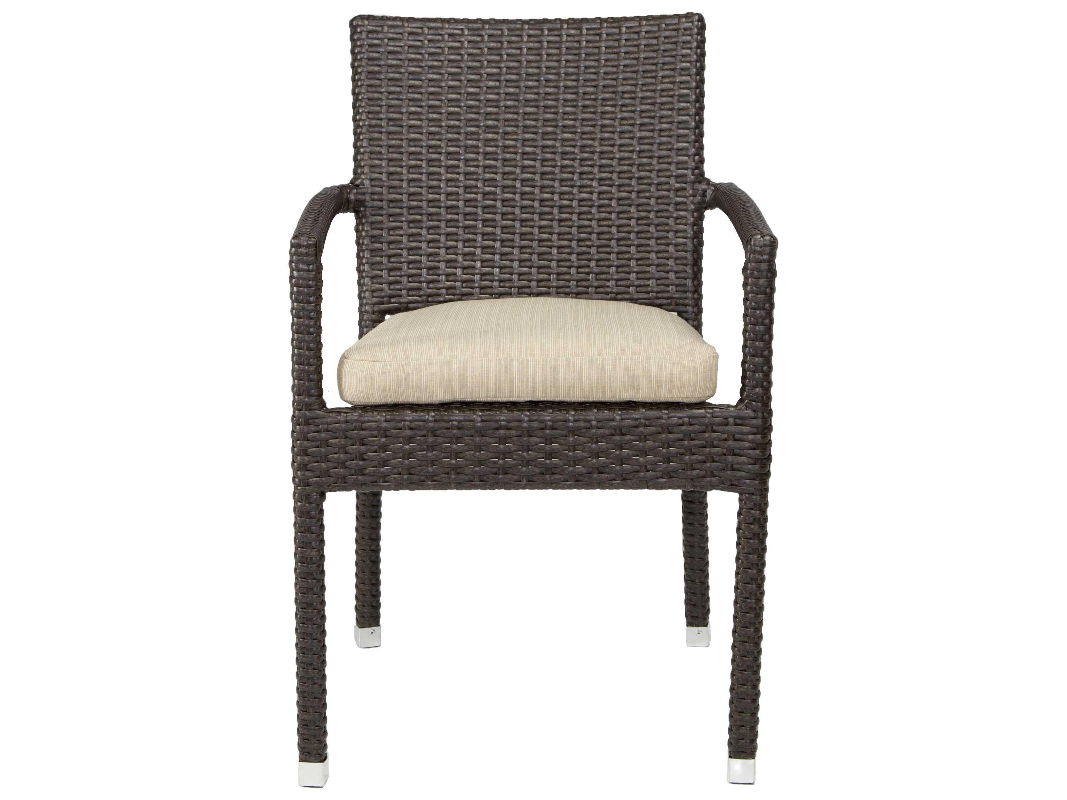 Patio heaven zuma wicker arm chair ph zac for Patio heaven