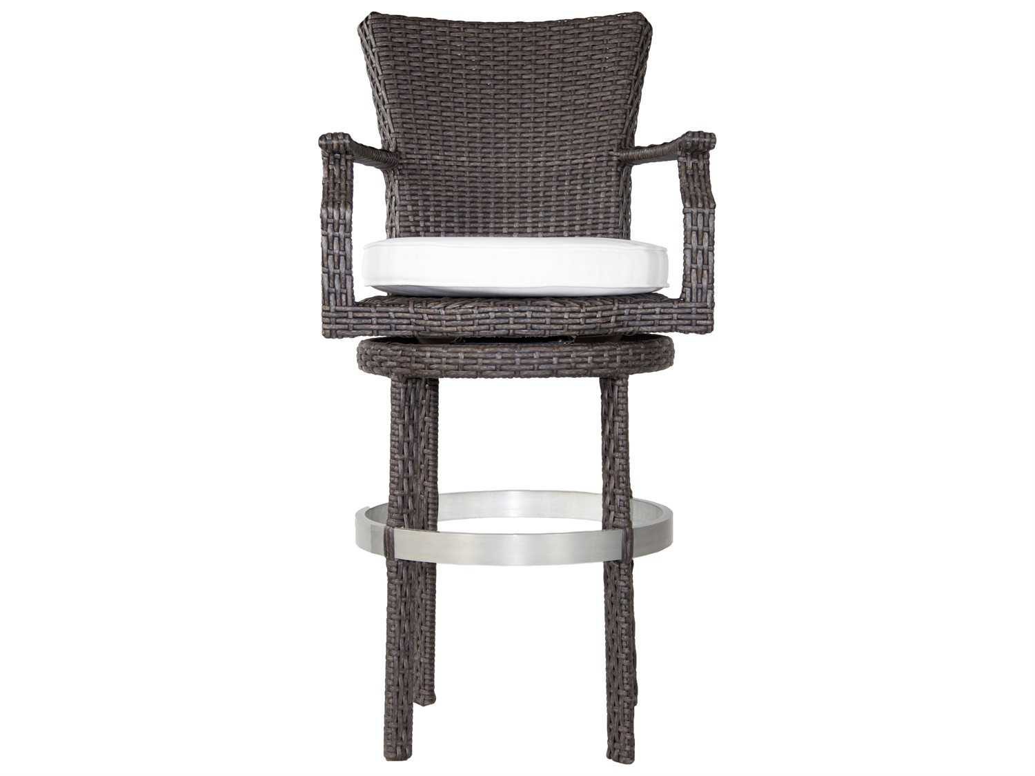 Patio Heaven Signature Wicker Swivel Round Barstool with  : PAWPRBSBH1zm from www.patioliving.com size 1500 x 1125 jpeg 63kB