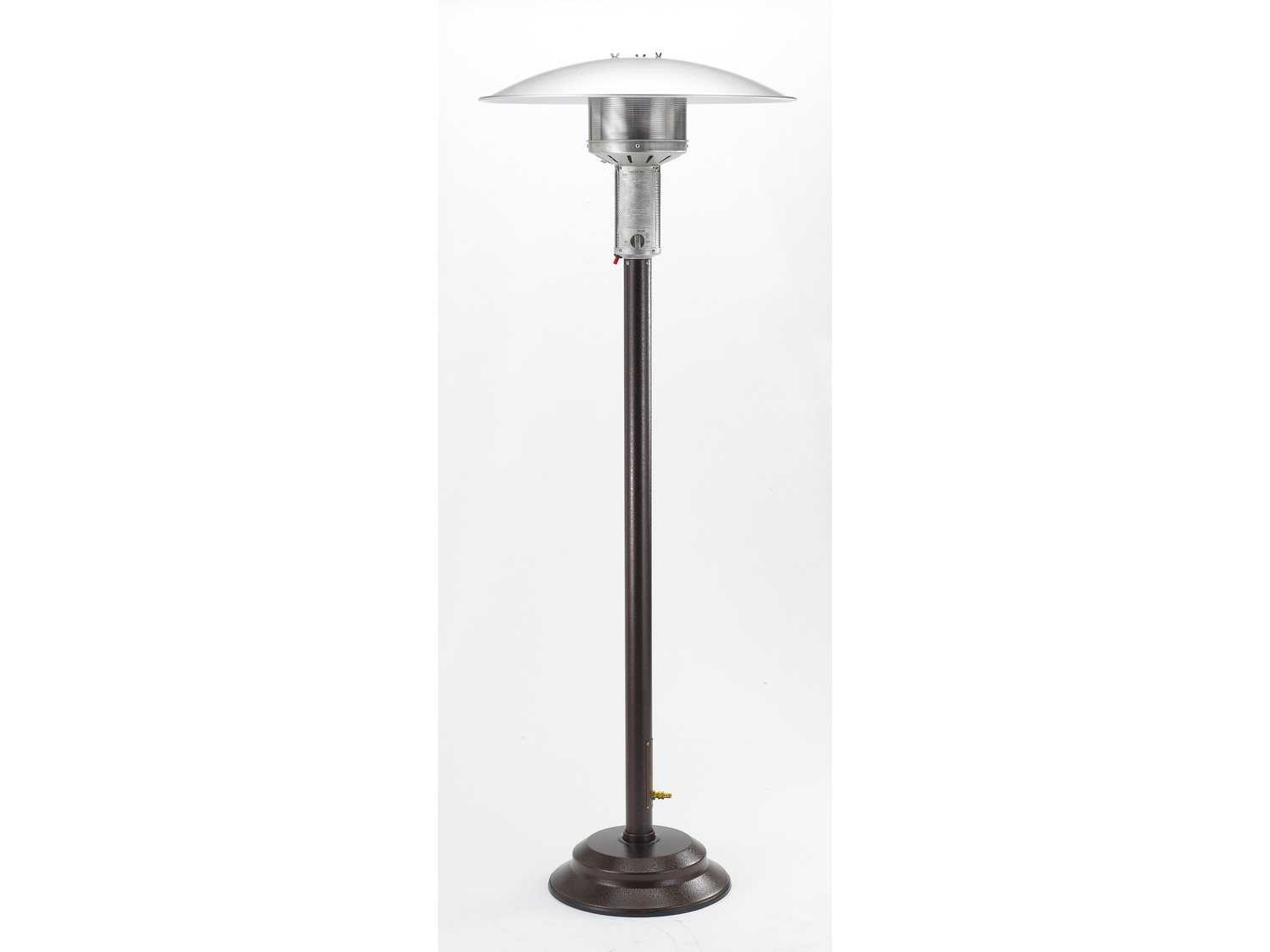 Patio fort Antique Bronze Steel Portable Natural Gas