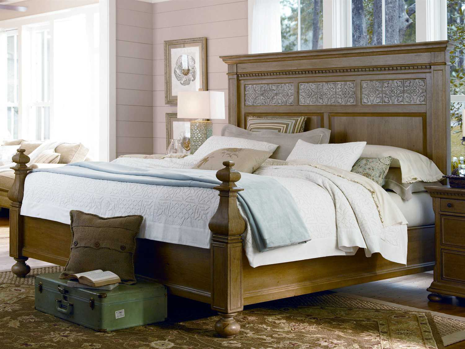 paula deen home down home oatmeal aunt peggy bedroom set