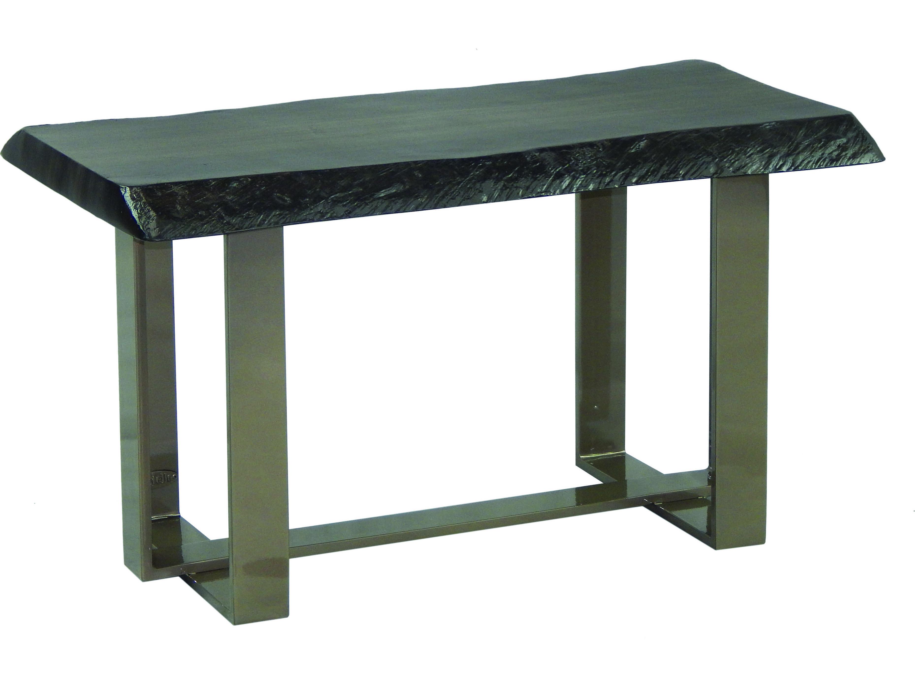 Castelle Moderna Cast Aluminum 34 X 18 Rectangular Coffee Table Hrc3418