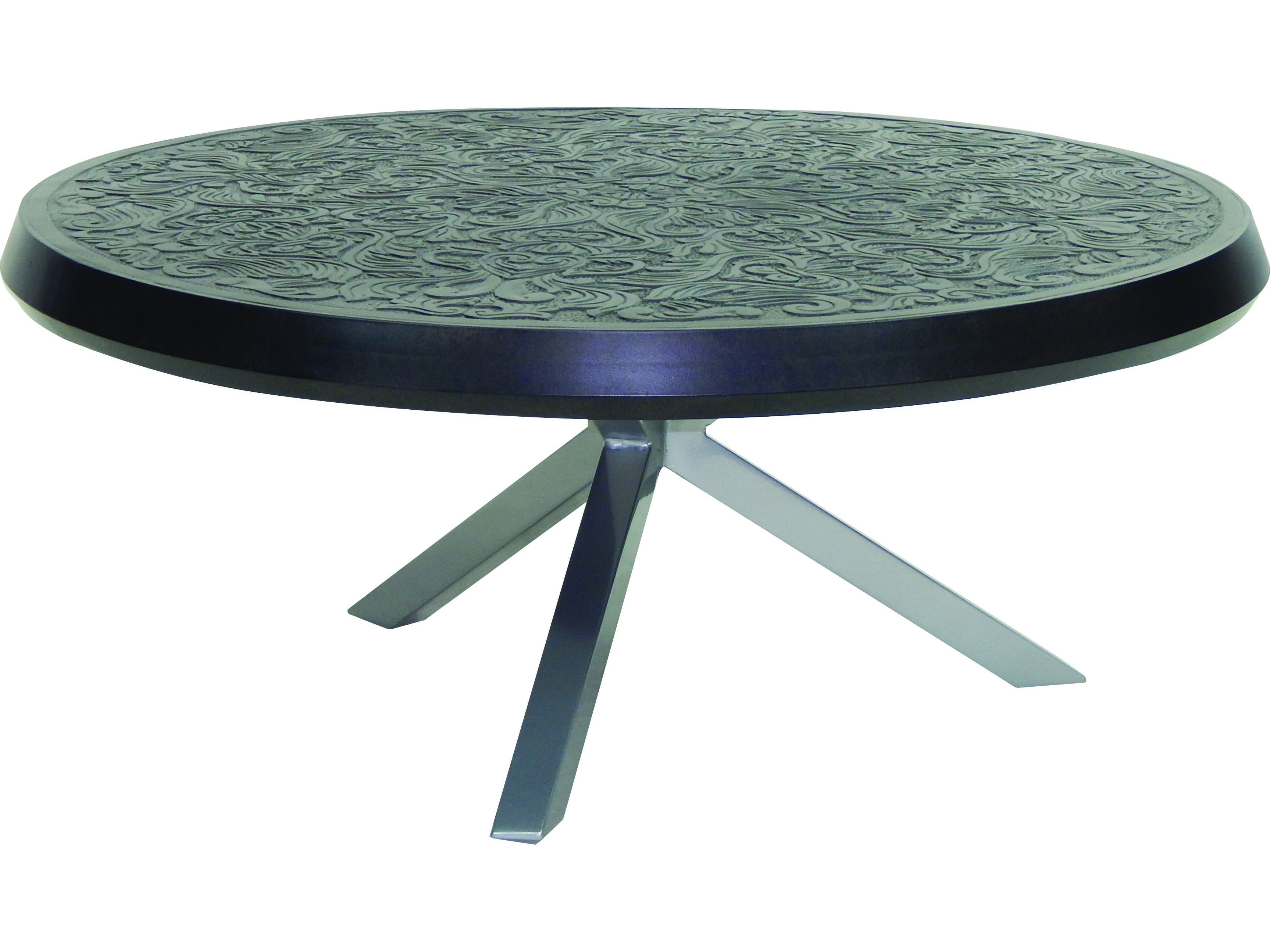 Castelle Altra Cast Aluminum 44 Round Coffee Table Tcc42