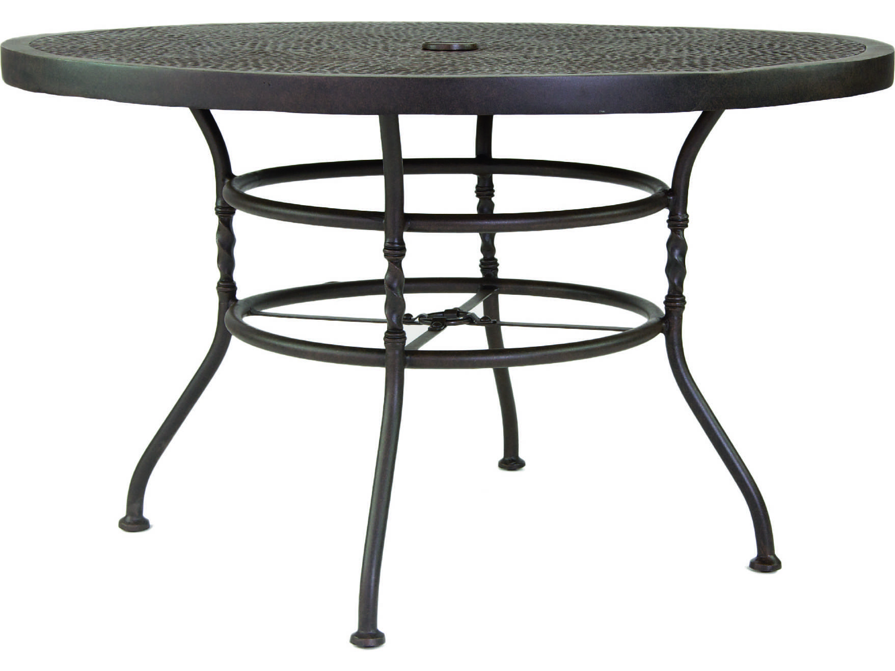 round aluminum patio dining table home decor. Black Bedroom Furniture Sets. Home Design Ideas