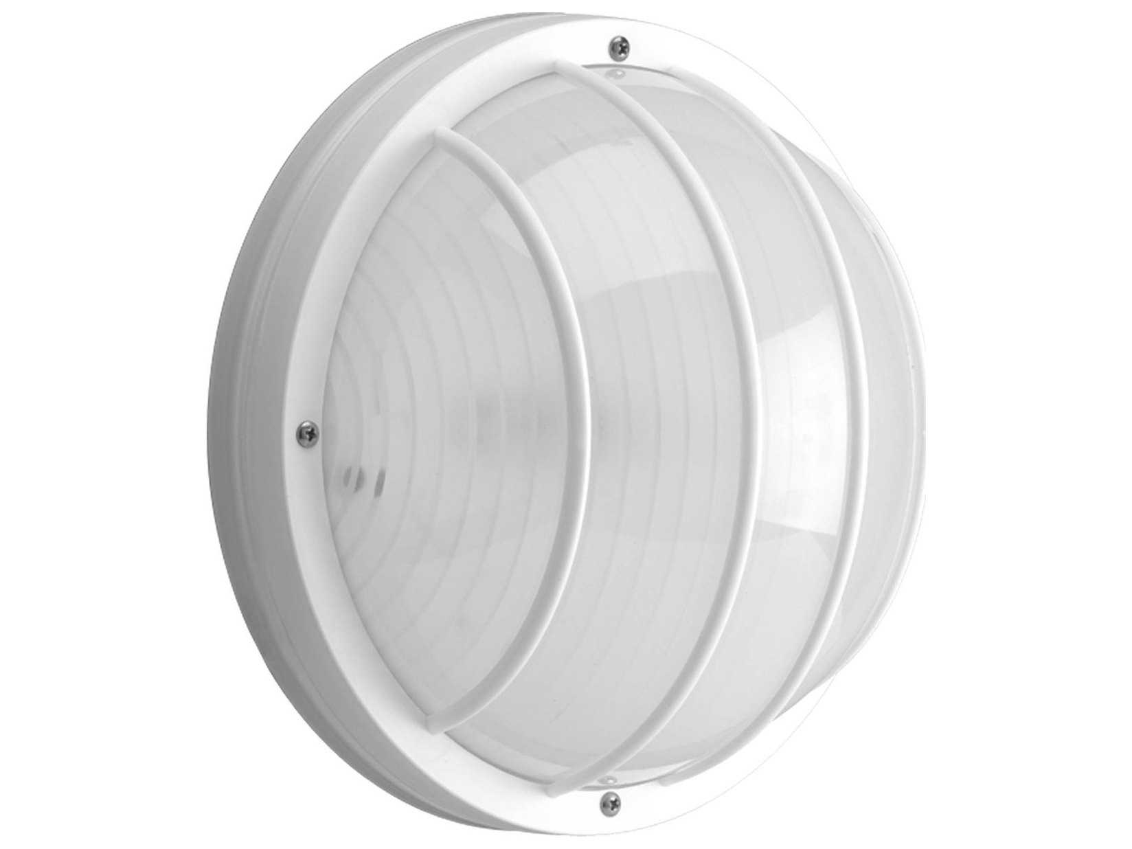 Progress Lighting Non-Metallic White Two-Light Outdoor Wall Light P7337-30EBWB