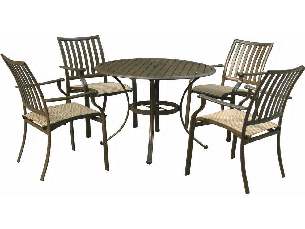 Panama Jack Island Breeze Aluminum Five Piece Slatted