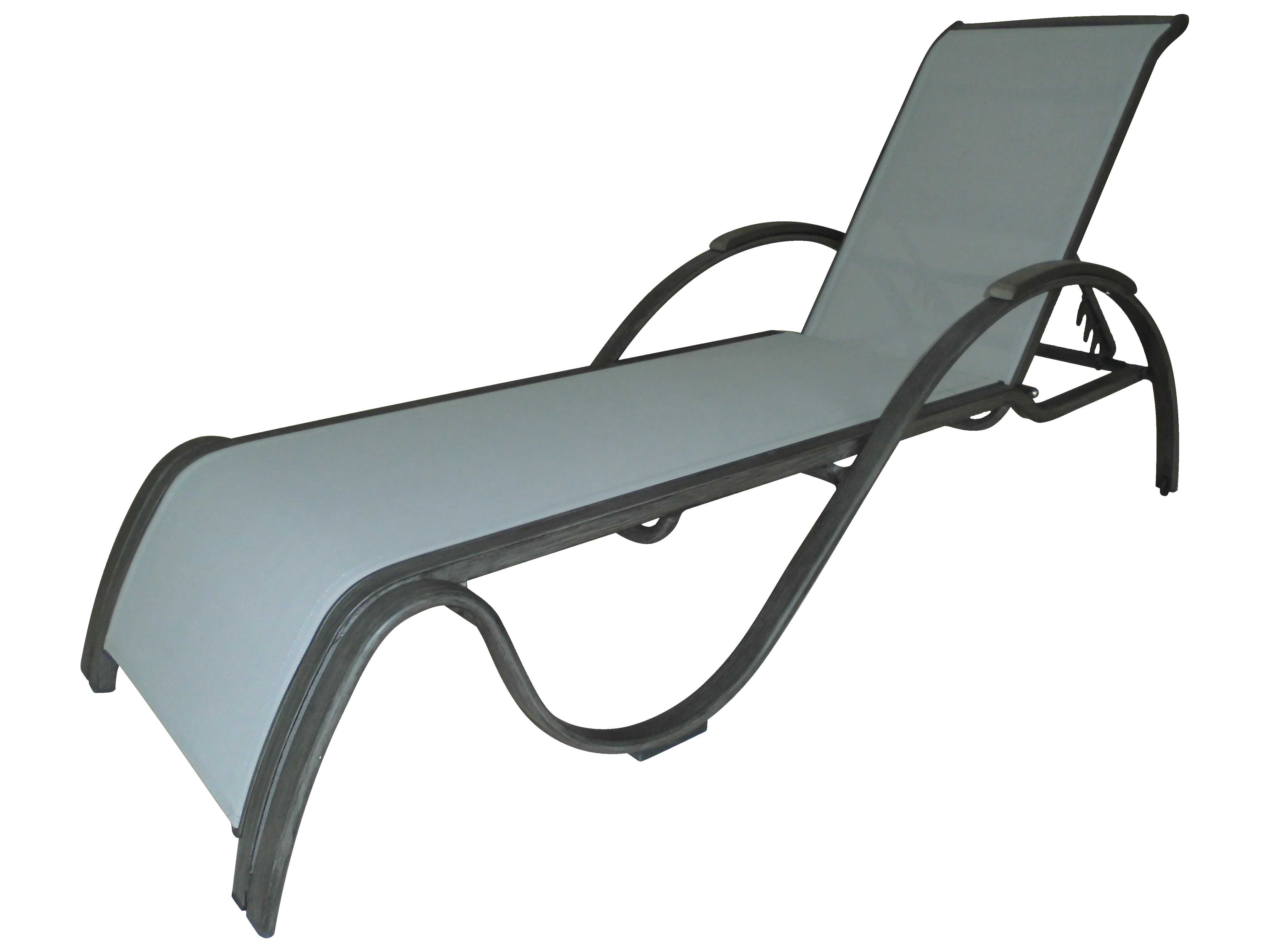 Panama jack newport beach aluminum chaise lounge pjo for Beach chaise lounge