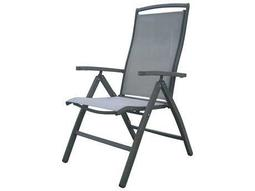 Panama Jack Newport Beach Aluminum Multi-Position Folding Armchair