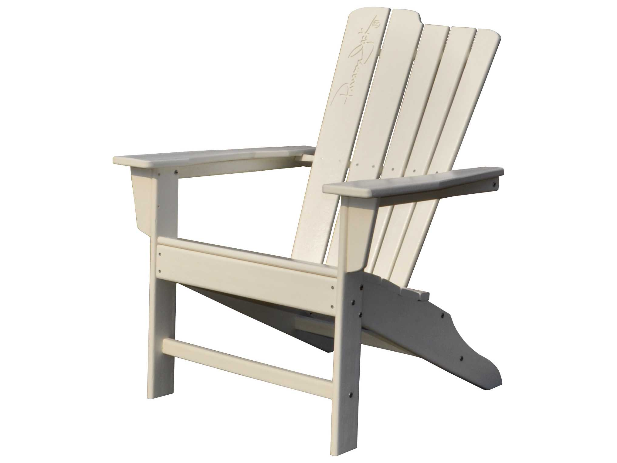 Panama Jack Adirondack Resin White Adirondack Resin Chair