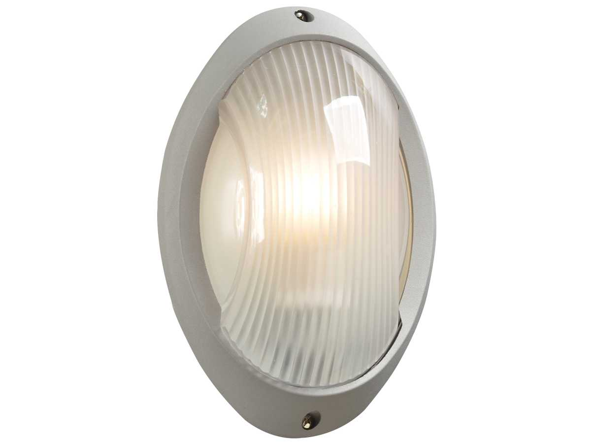 Fluorescent Exterior Wall Lights : PLC Lighting Alonzo Silver Fluorescent-Quad13 Outdoor Wall Light 1866SL113Q