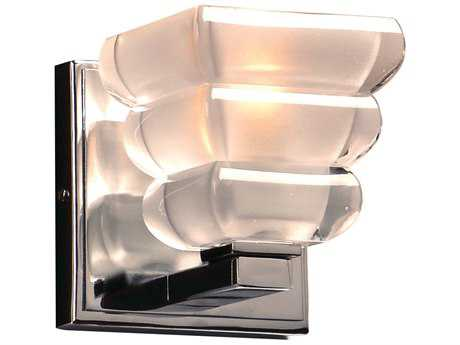 PLC Lighting Titan Polished Chrome Incandescent Wall Sconce (Sold in 2)