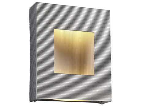 PLC Lighting Malta Aluminum Fluorescent-Quad13 Wall Sconce 6412AL113Q