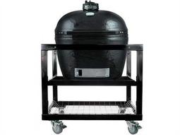 Primo Oval (400) XL Ceramic Smoker In Steel Cart