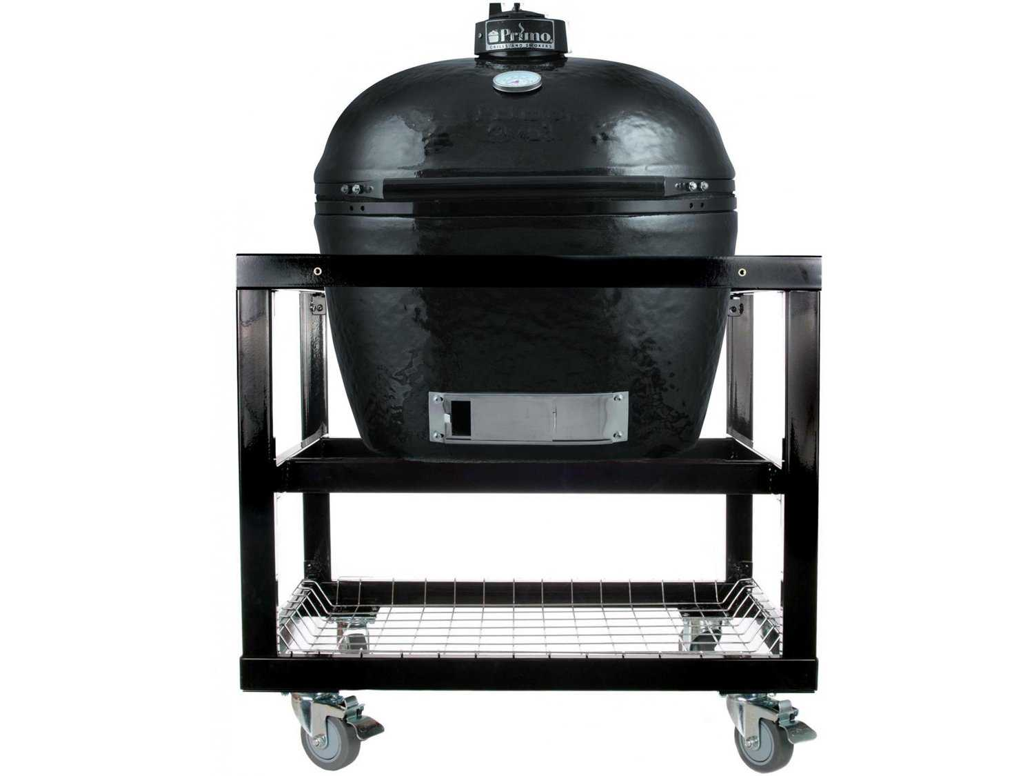 Primo Oval 400 XL Ceramic Smoker In Steel Cart PRXLCART1 : PMPRXLCART11zm from luxedecor.com size 1500 x 1125 jpeg 64kB