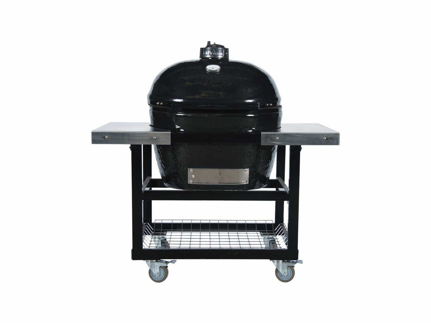 Primo Oval 400 Xl Ceramic Smoker Grill On Stainless