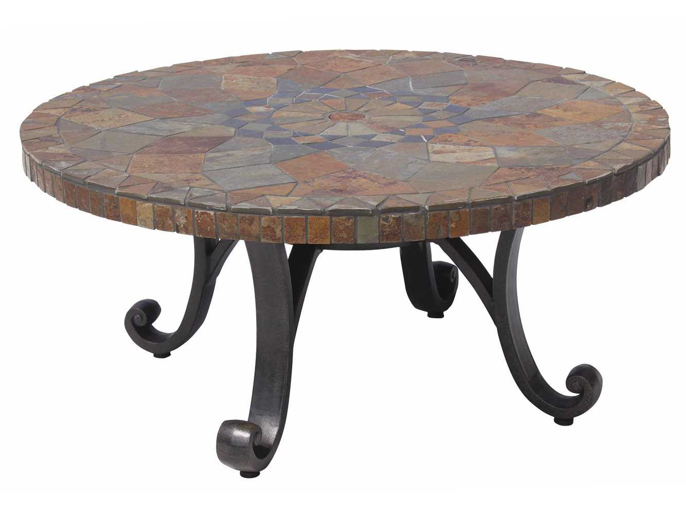 Paragon Casual Carlisa Cast Aluminum 48 Round Cocktail Table 31448r