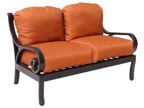 Paragon Casual Carlisa Cast Aluminum Club Loveseat