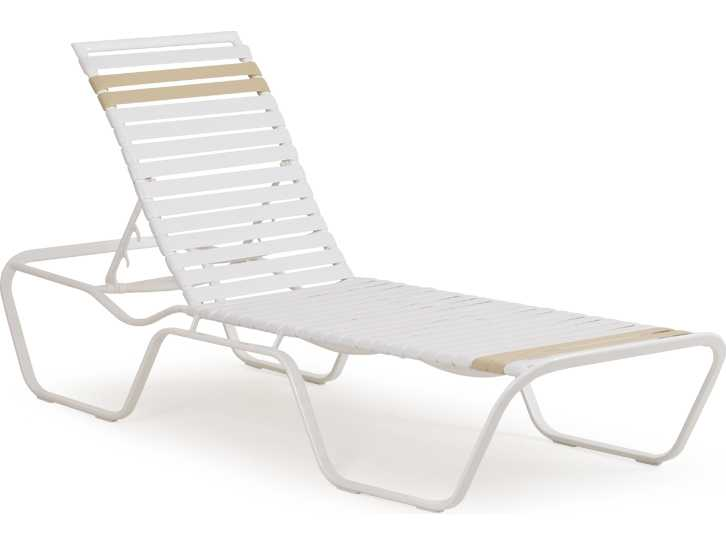 Palm springs rattan aluminum 1600 series chaise lounge 1609r for Chaise serie 7