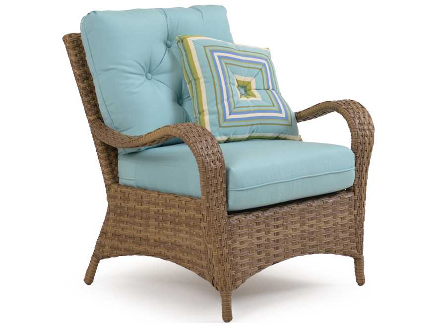 Palm springs rattan 6000 series conversation cushion patio wicker lounge set 6000set4 - Conversation set replacement cushions ...