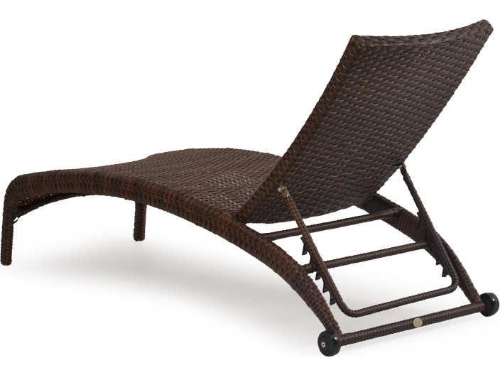 Palm springs rattan 6300 series armless chaise lounge 6309 for Armless chaise lounge
