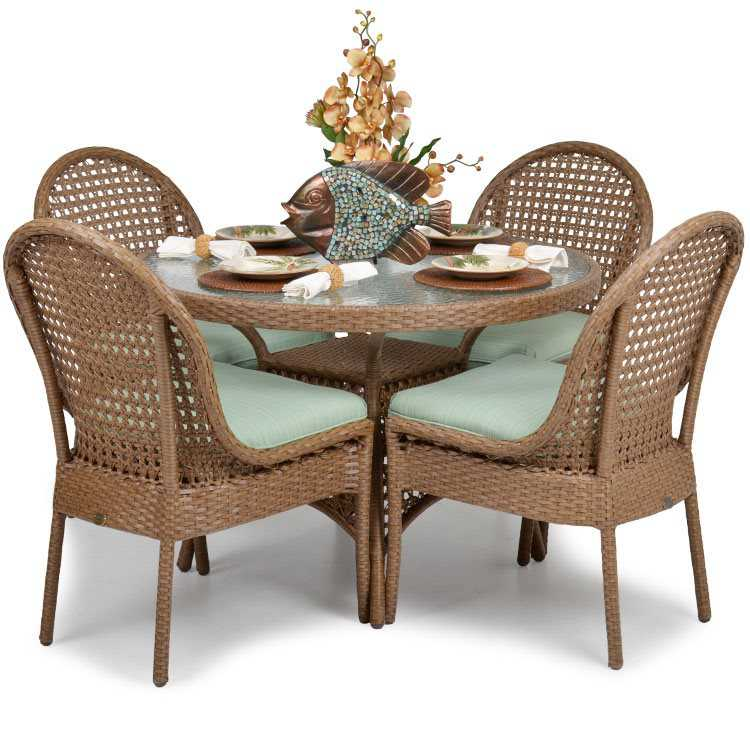 Palm Springs Rattan 6700 Series 28.5 X 42 Round Dining