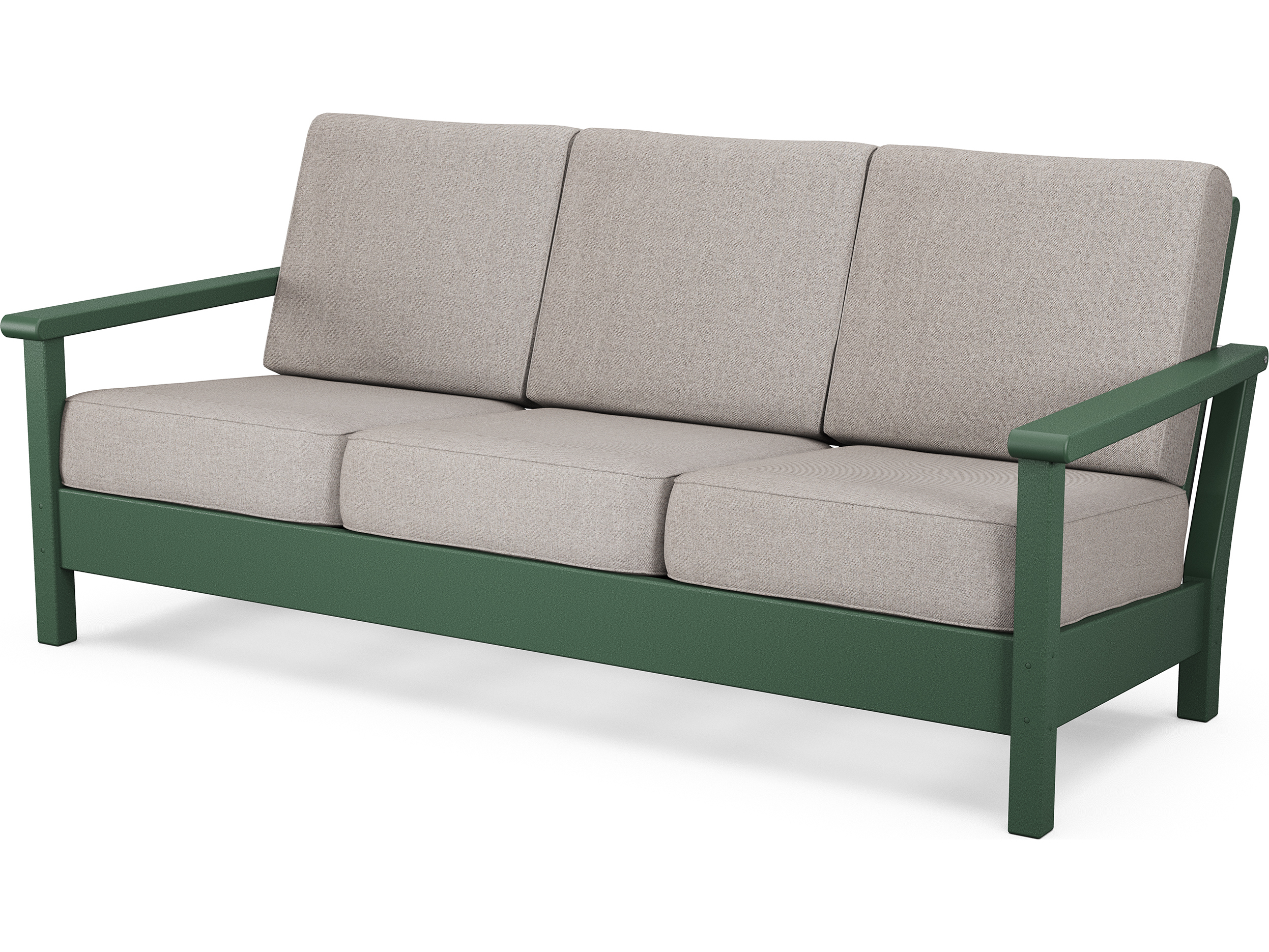 Polywood harbour recycled plastic deep seating sofa 4013 for Sofa exterior pvc