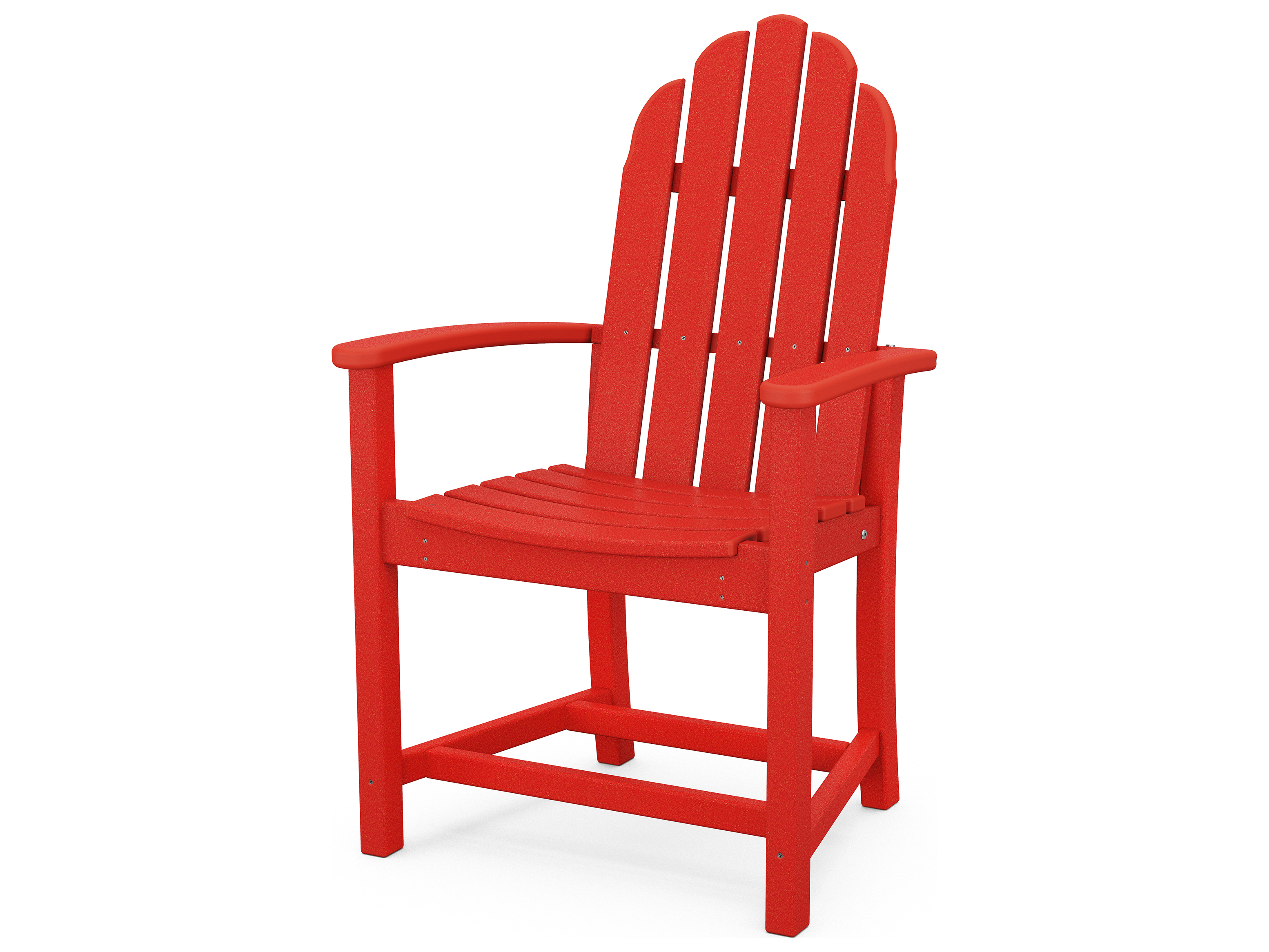 Polywood 174 Classic Adirondack Recycled Plastic Dining Chair