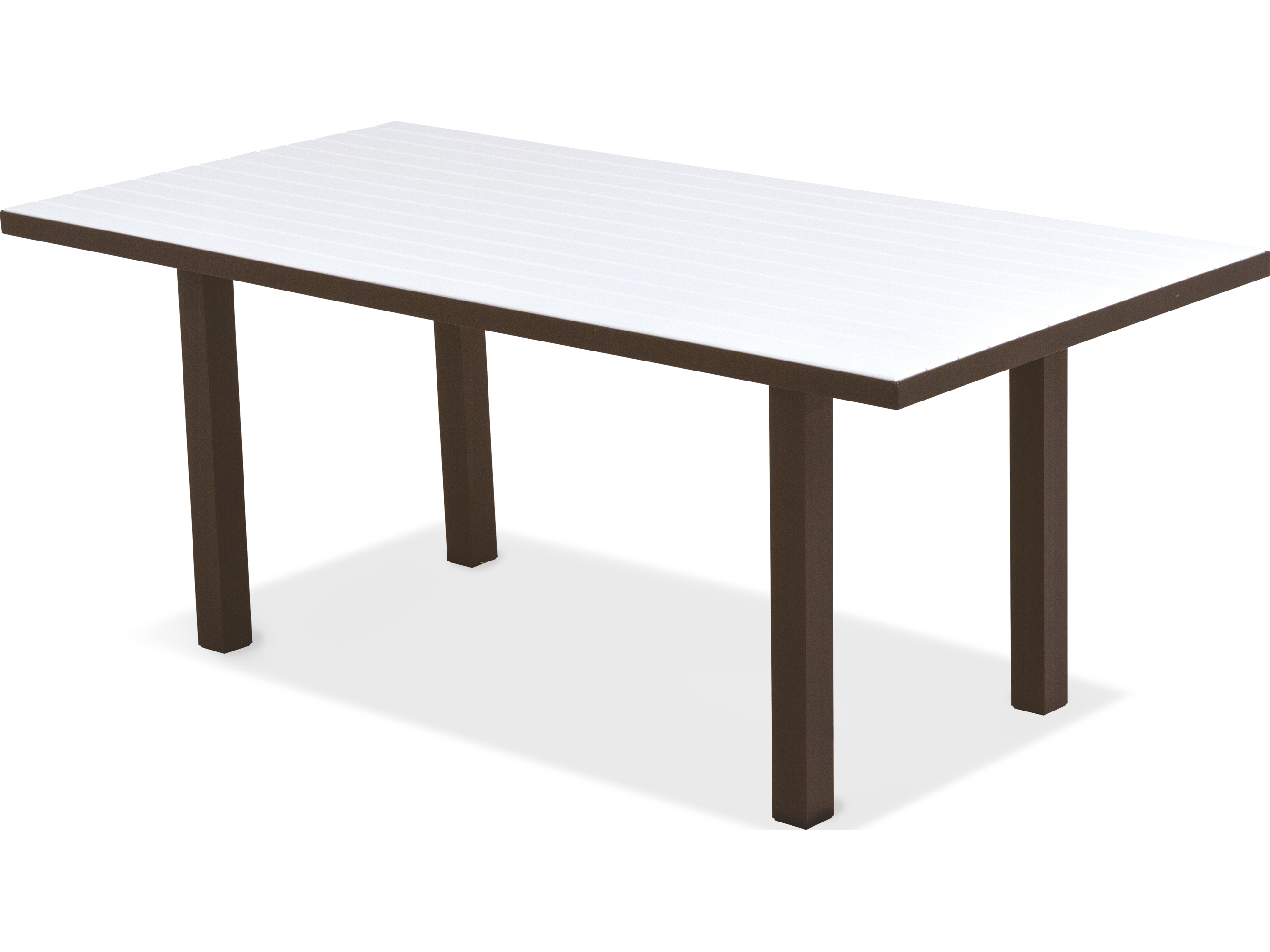 Euro Recycled Plastic 72 X 36 Rectangular Dining Table AT3672