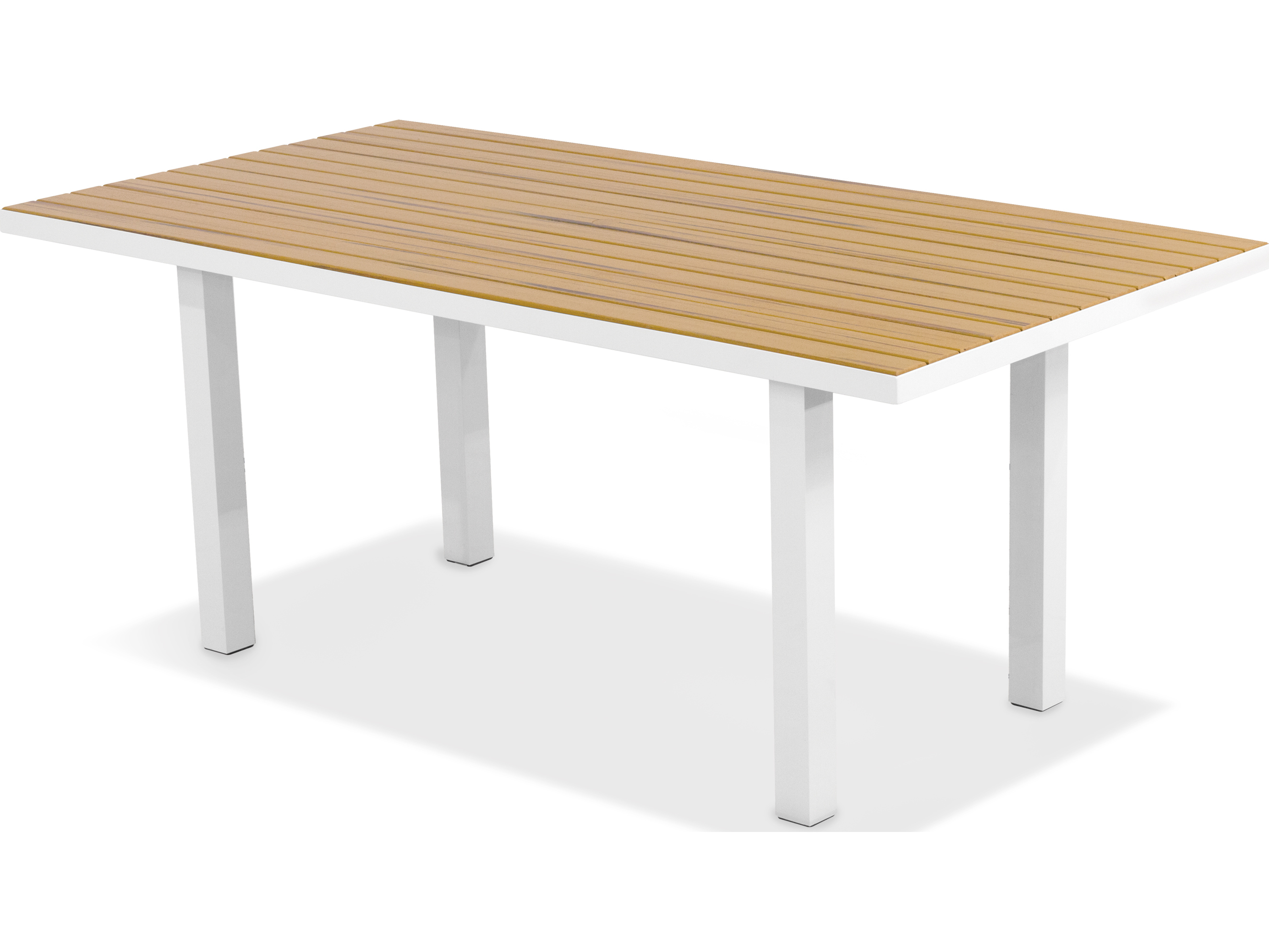 Polywood 174 Euro Recycled Plastic 72 X 36 Rectangular Dining
