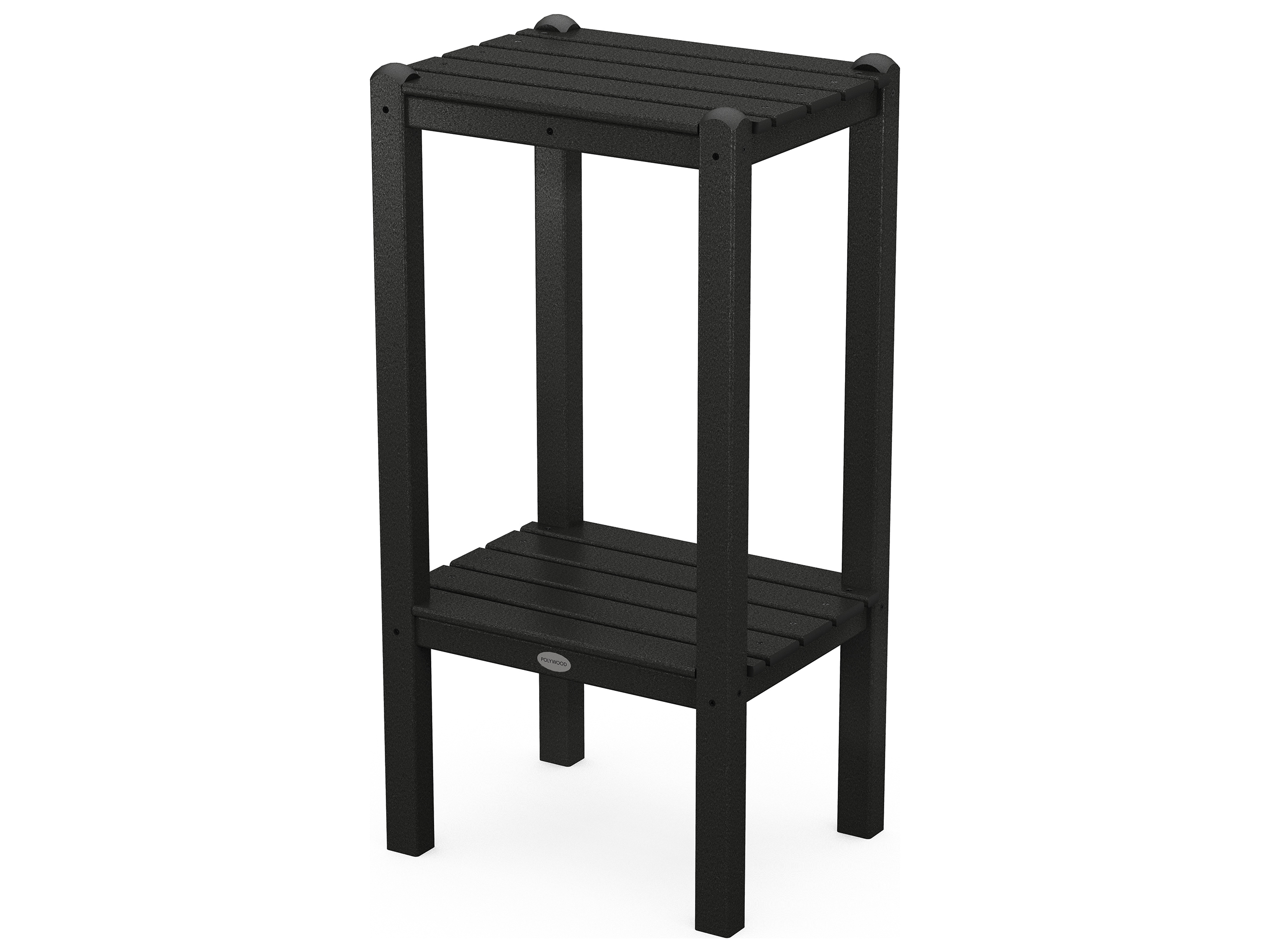 Make A Side Table Taller: POLYWOOD® Traditional Recycled Plastic 18.5 X 14