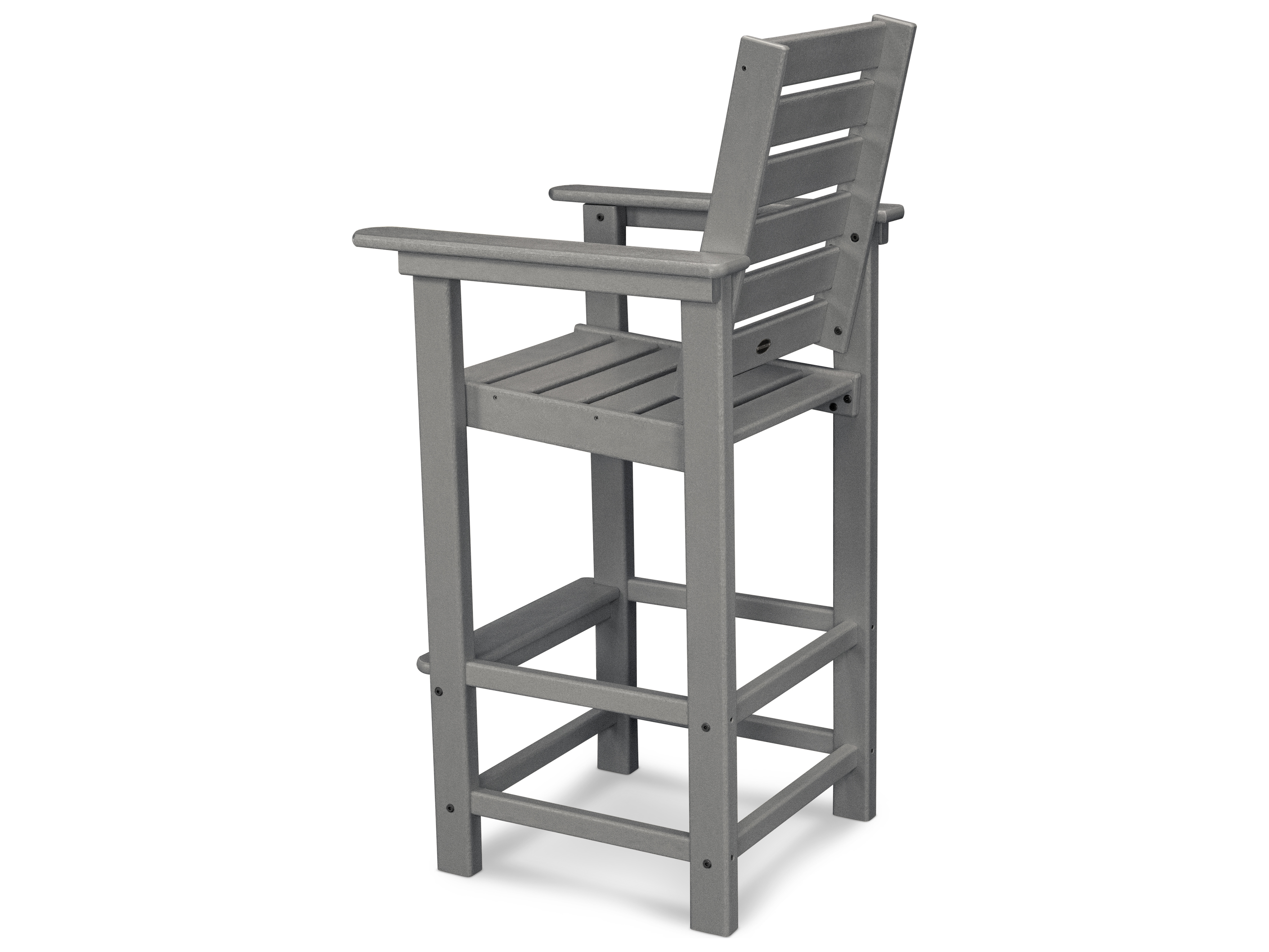 Polywood 174 Captain Recycled Plastic Bar Chair Ccb30