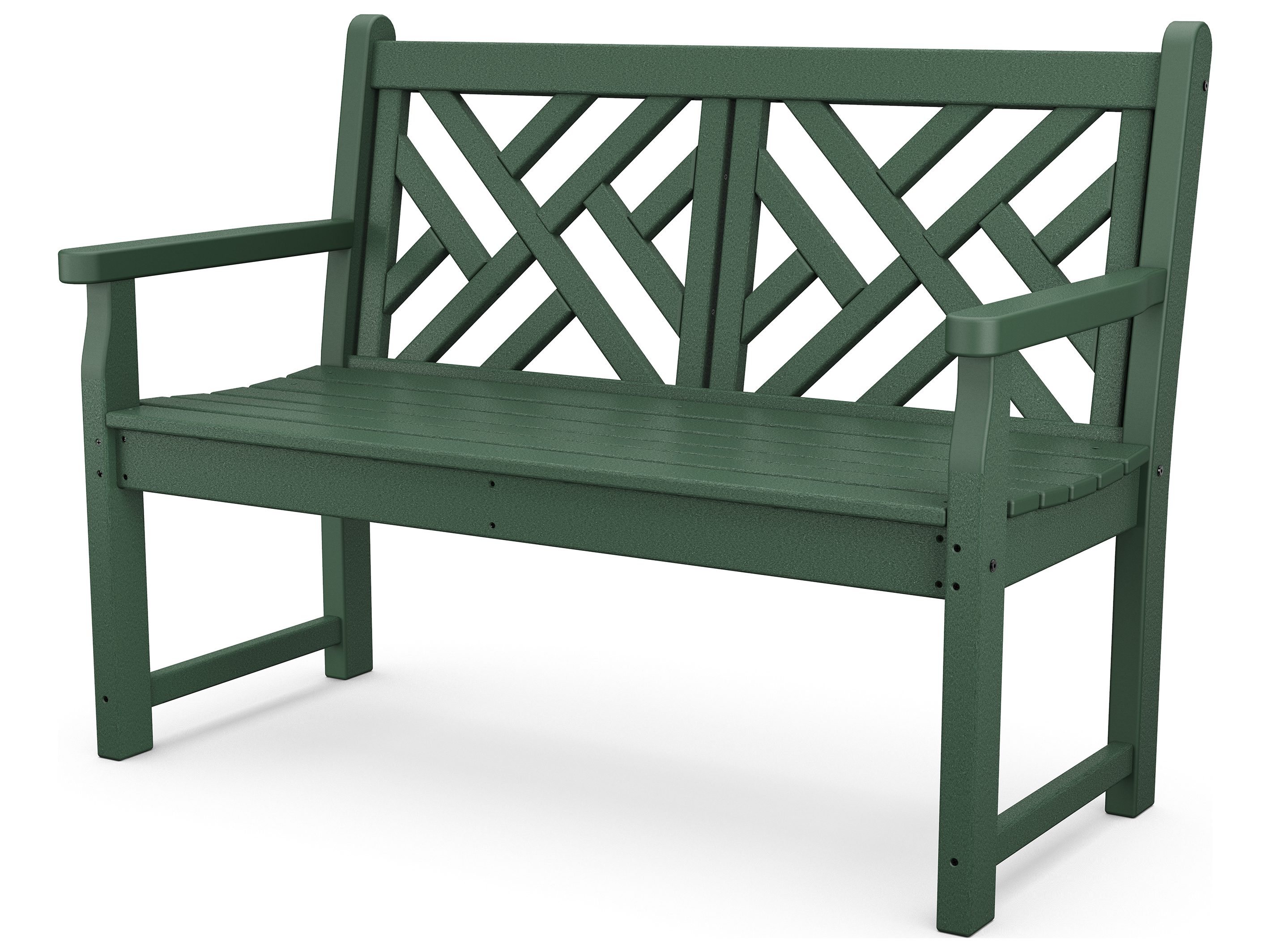 Polywood Chippendale Recycled Plastic Bench Cdb48