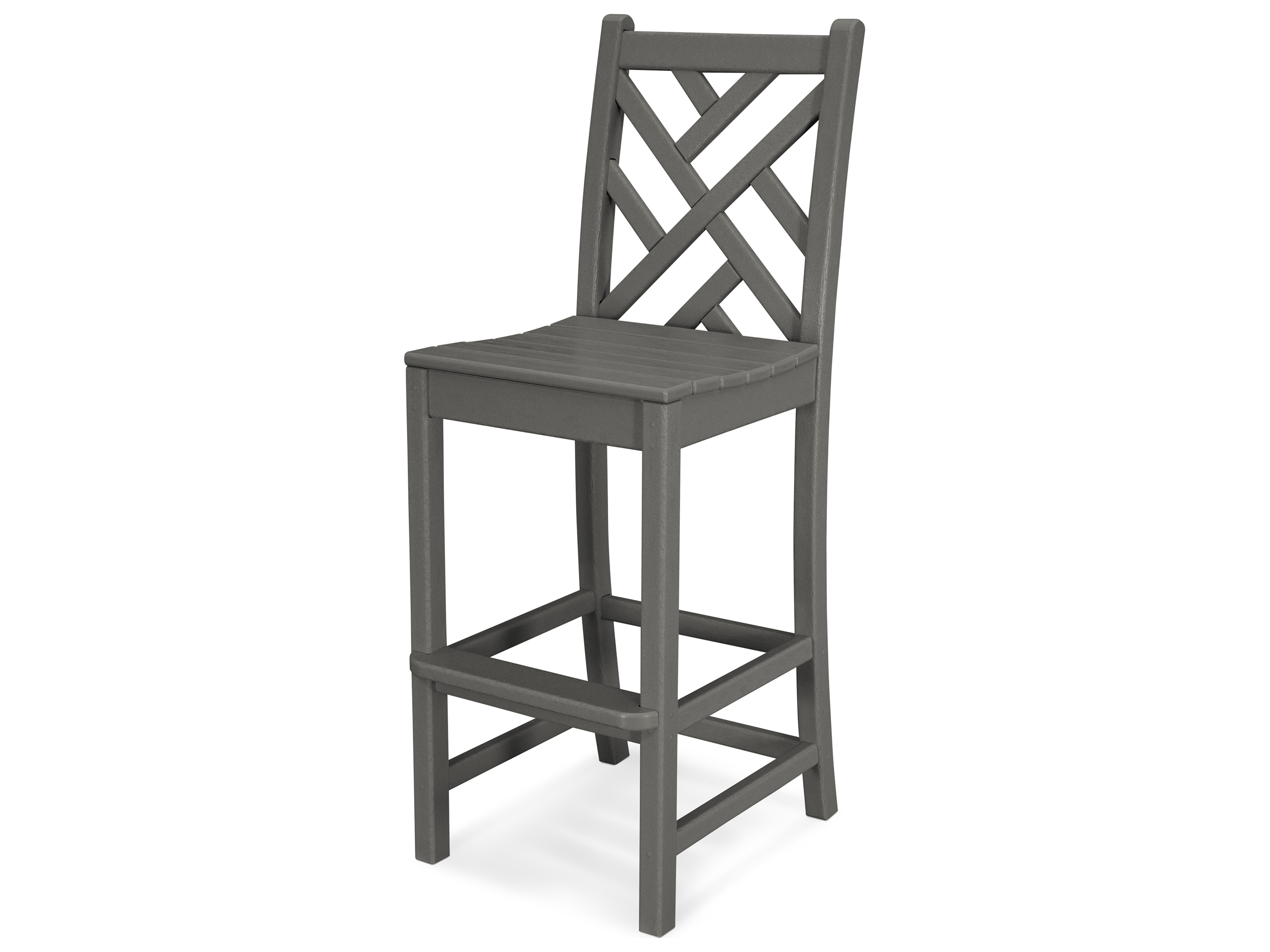 polywood® chippendale recycled plastic side bar stool  cdd - hover to zoom