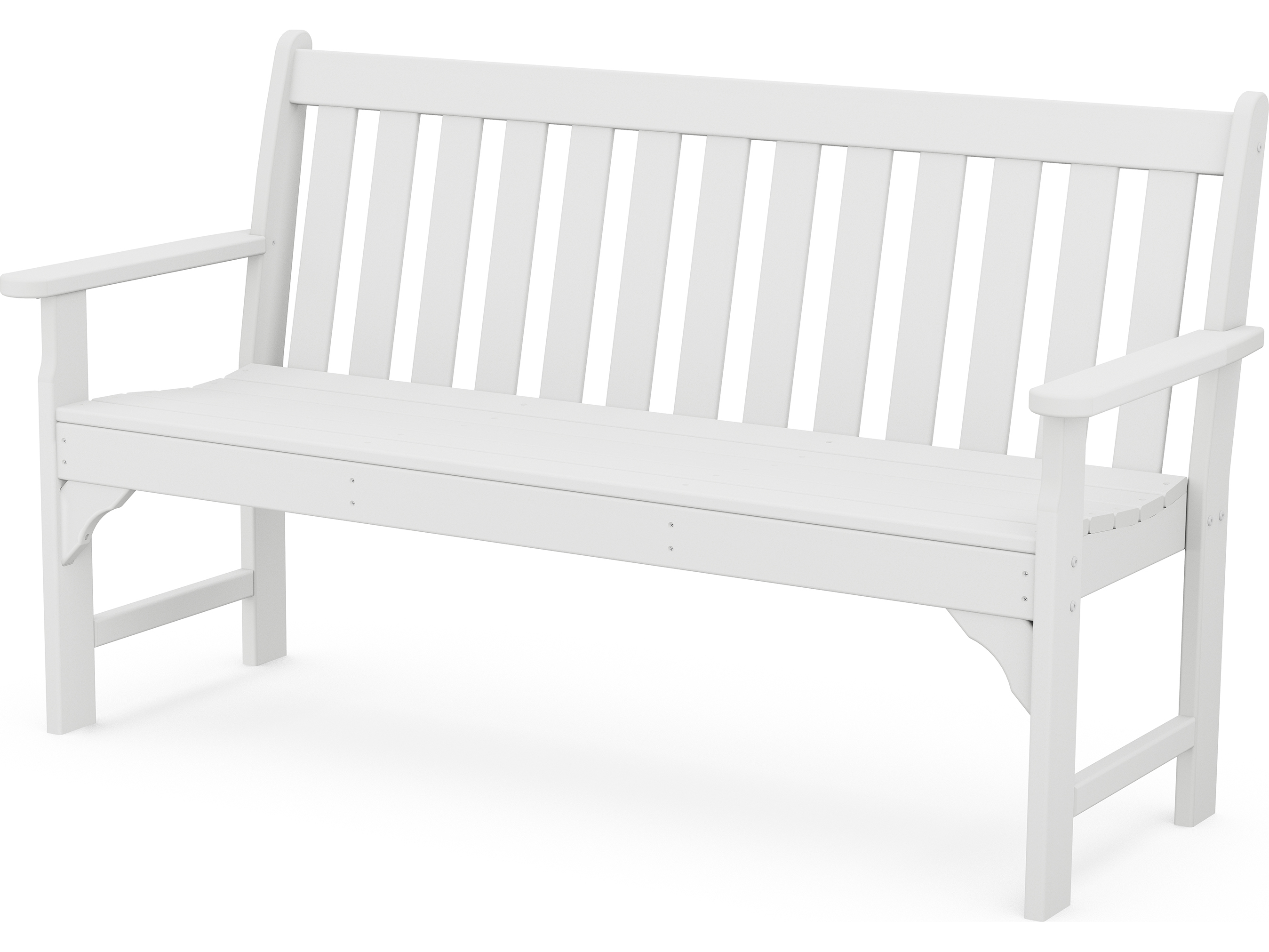 POLYWOOD Vineyard Recycled Plastic Bench