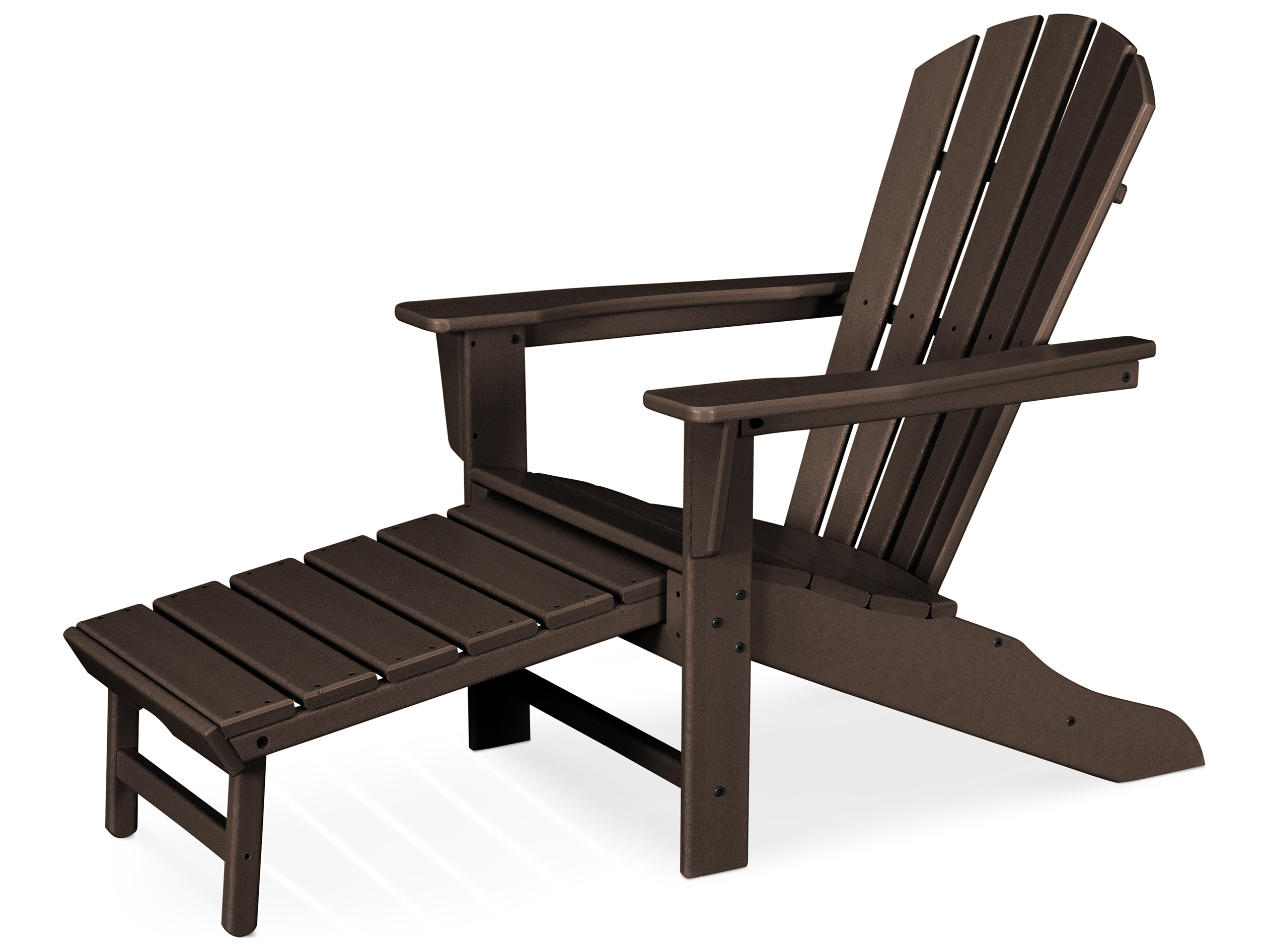 Polywood South Beach Recycled Plastic Adirondack Arm