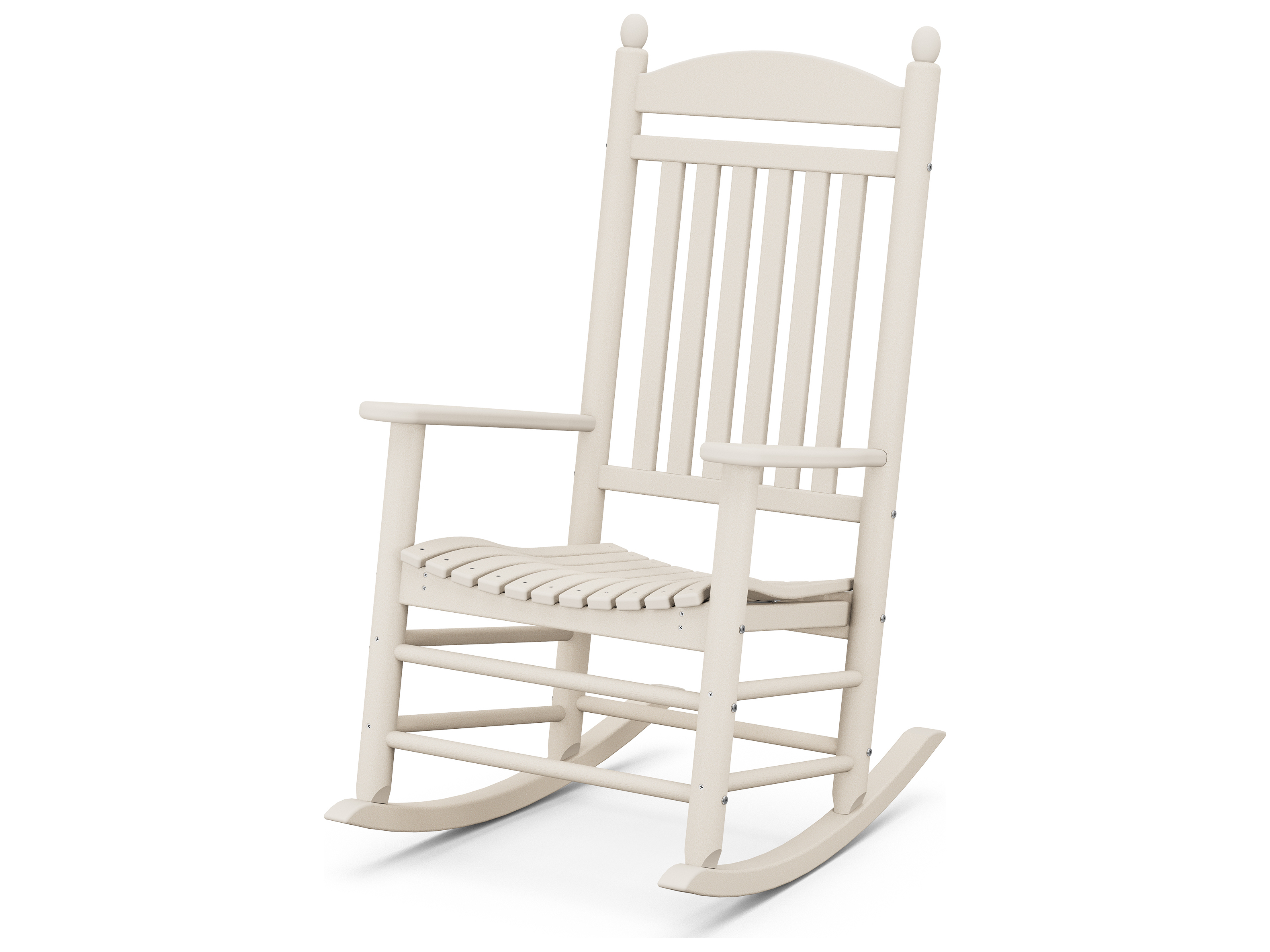 Polywood Rocker Recycled Plastic Arm Lounge Chair J147