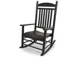 Rocker Recycled Plastic Arm Lounge Chair By POLYWOOD®