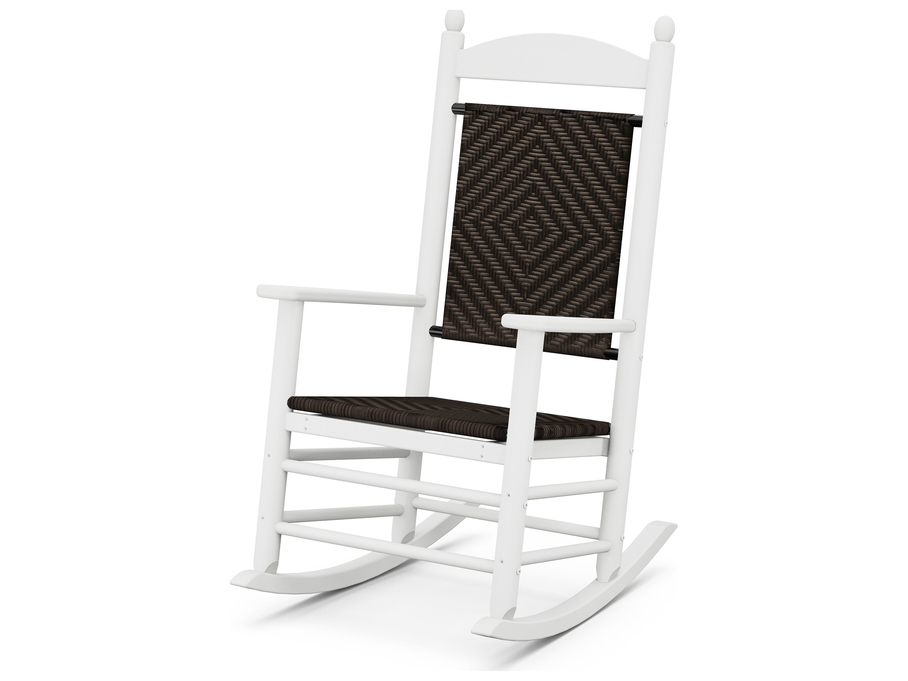 Polywood Jefferson Recycled Plastic Rocker Lounge Chair K147