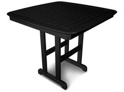 POLYWOOD® Nautical Recycled Plastic 44 Square Counter Table