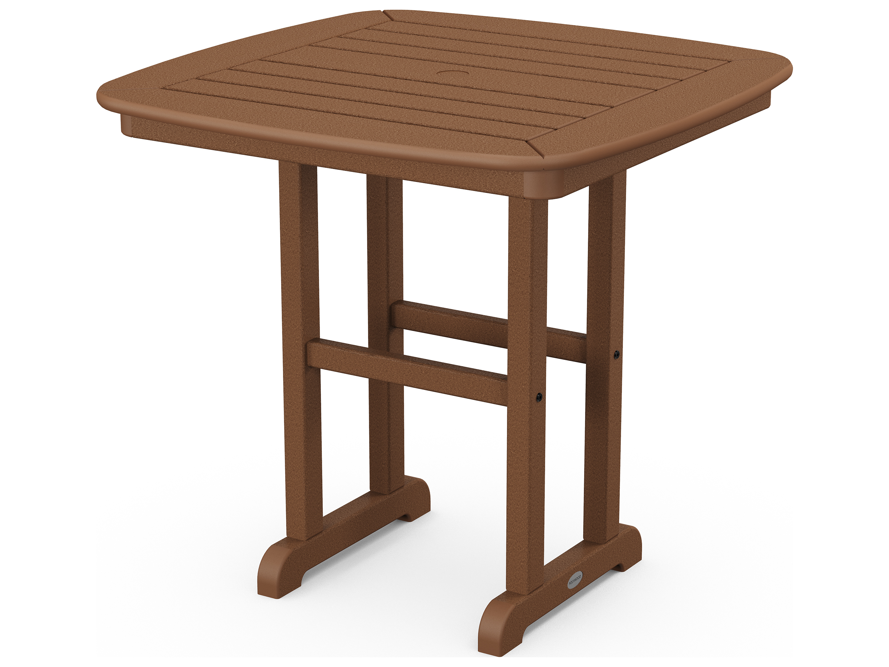 polywood nautical recycled plastic 31 square dining table