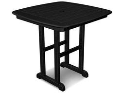 POLYWOOD® Nautical Recycled Plastic 31 Square Dining Table