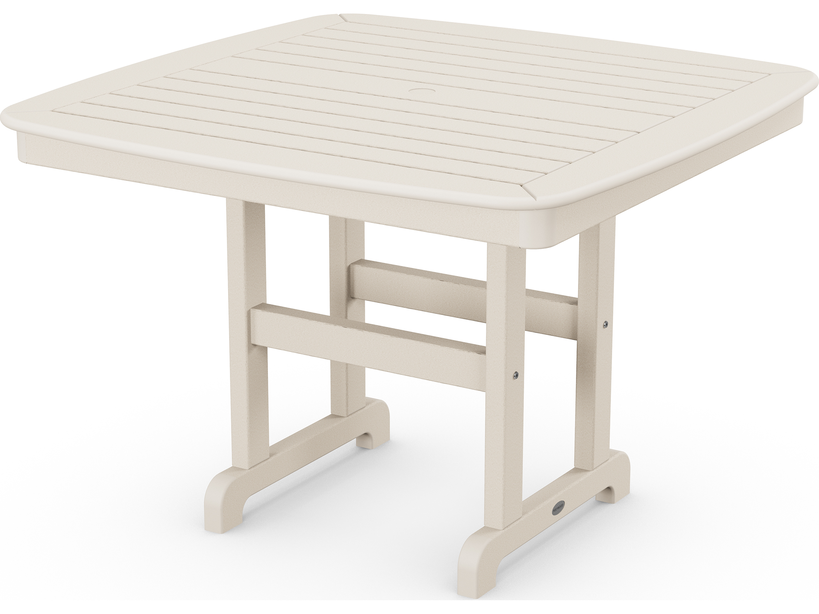 polywood nautical recycled plastic 44 square dining table