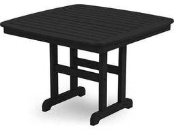 POLYWOOD® Nautical Recycled Plastic 44 Square Dining Table