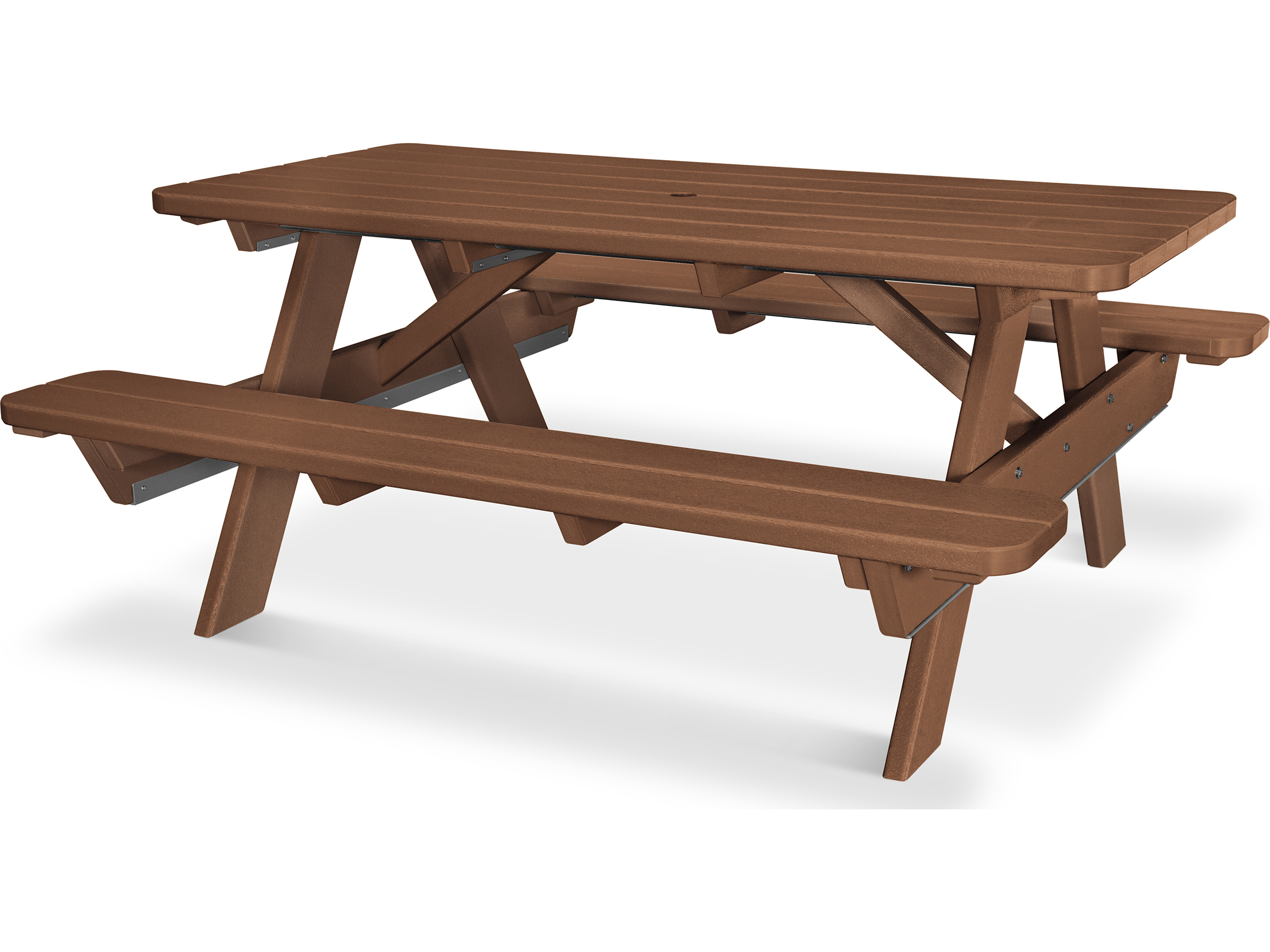 POLYWOOD® Park Recycled Plastic 6 Picnic Table  PT172