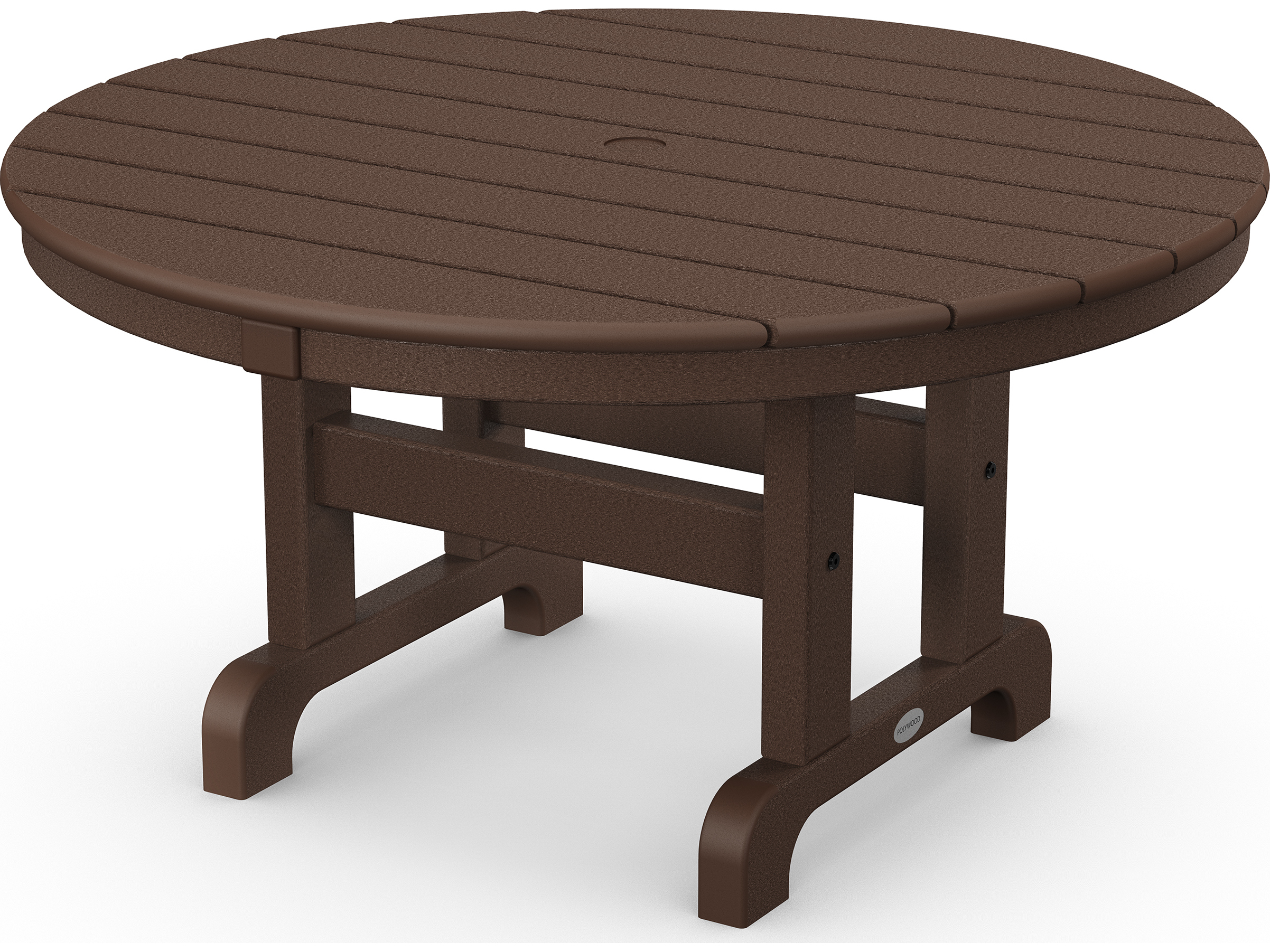 Polywood 174 Traditional Recycled Plastic 36 Round Chat Table