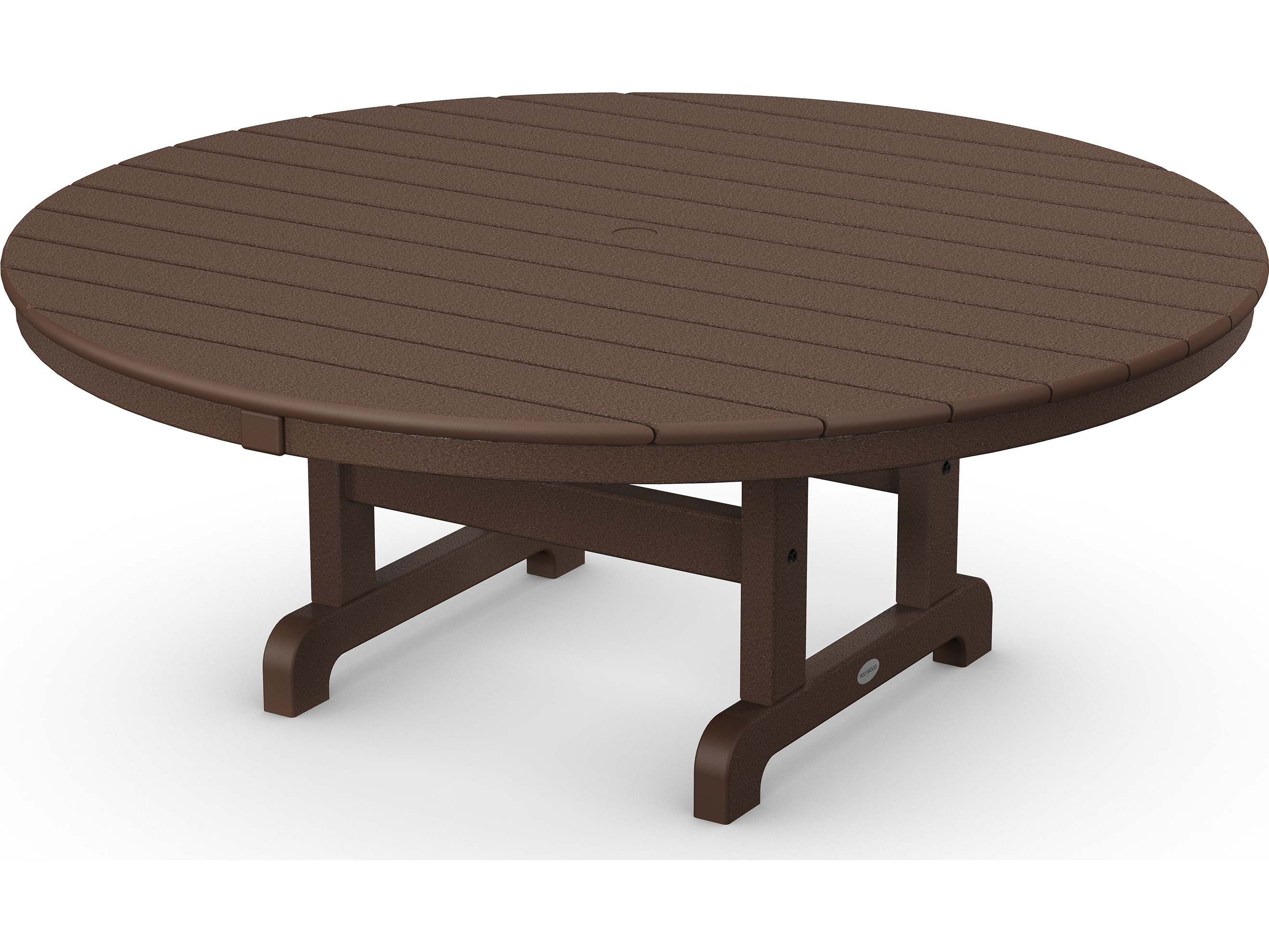 Polywood 174 Traditional Recycled Plastic 48 Round Chat Table