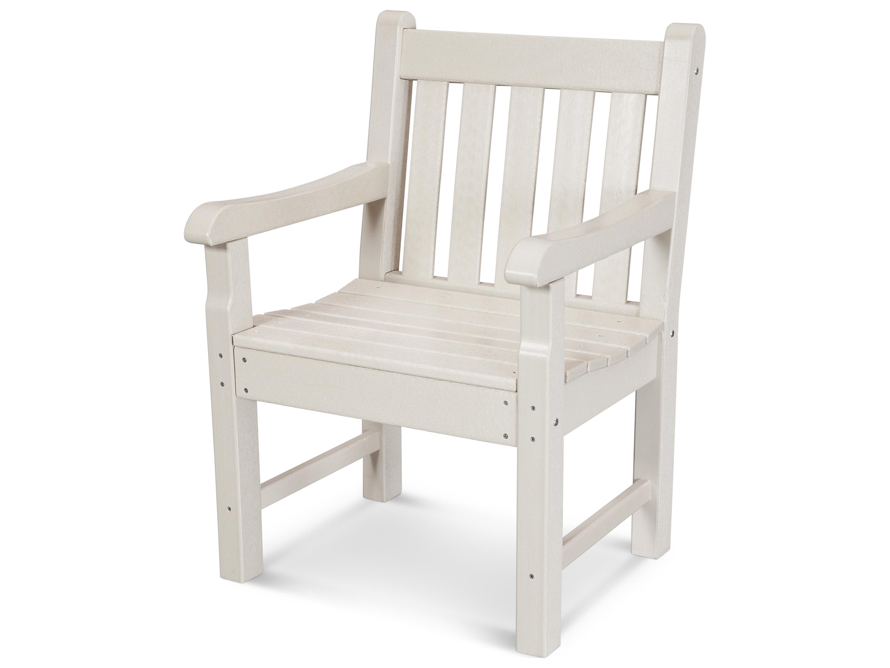 Polywood 174 Rockford Recycled Plastic Arm Chair Rkb24