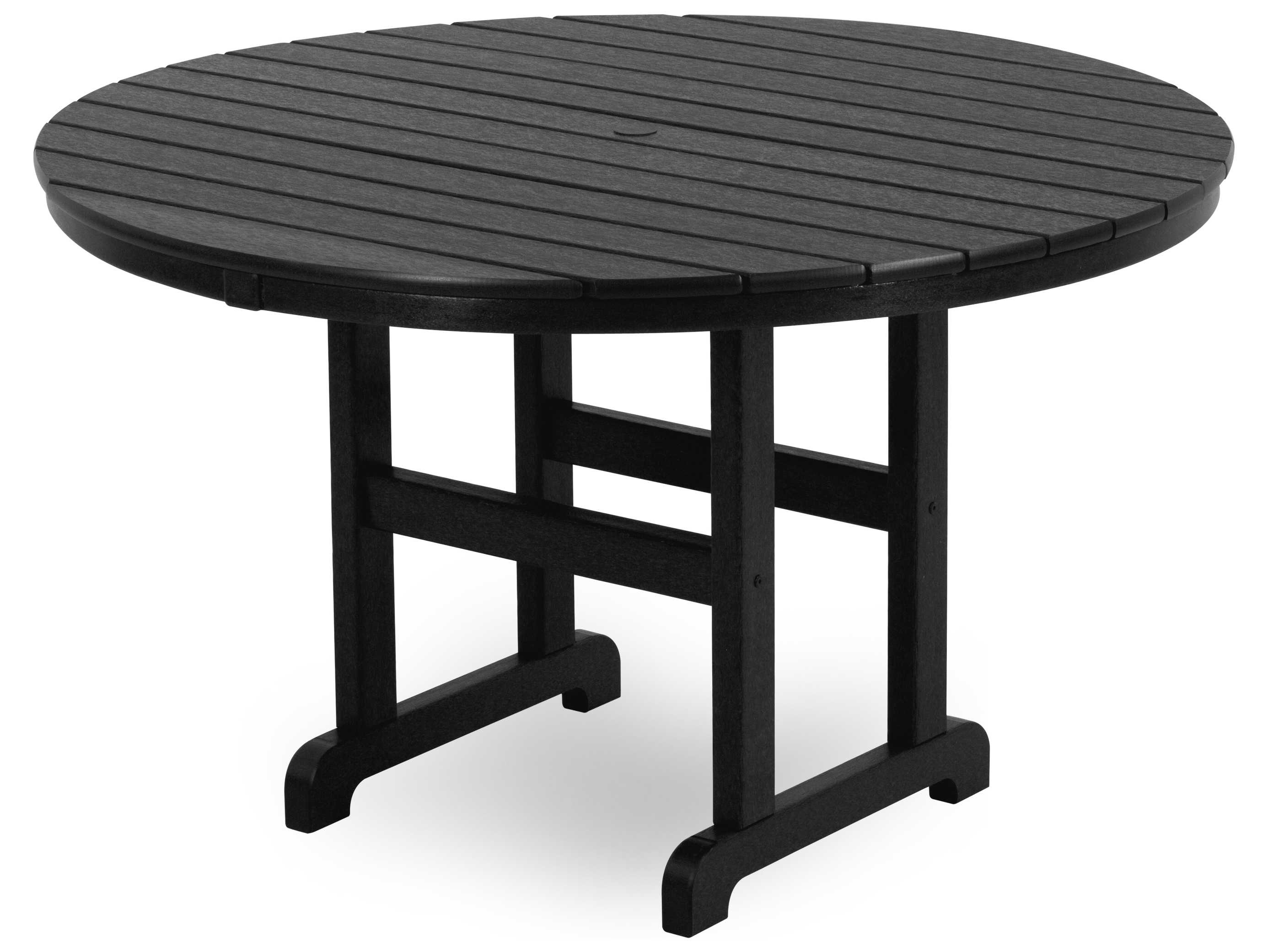 Polywood La Casa Cafe Recycled Plastic 48 Round Dining