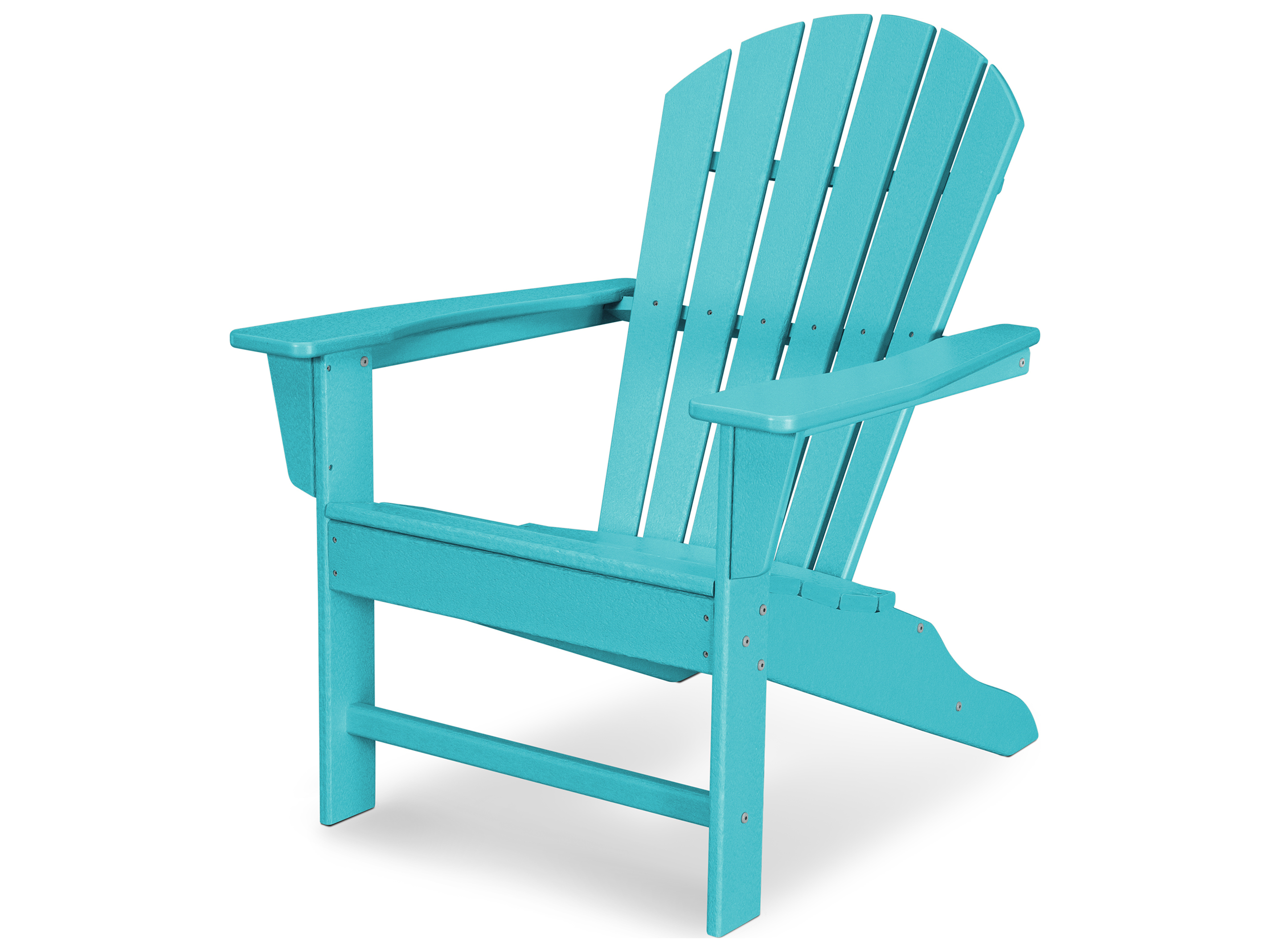 POLYWOOD® South Beach Recycled Plastic Adirondack Chair ...