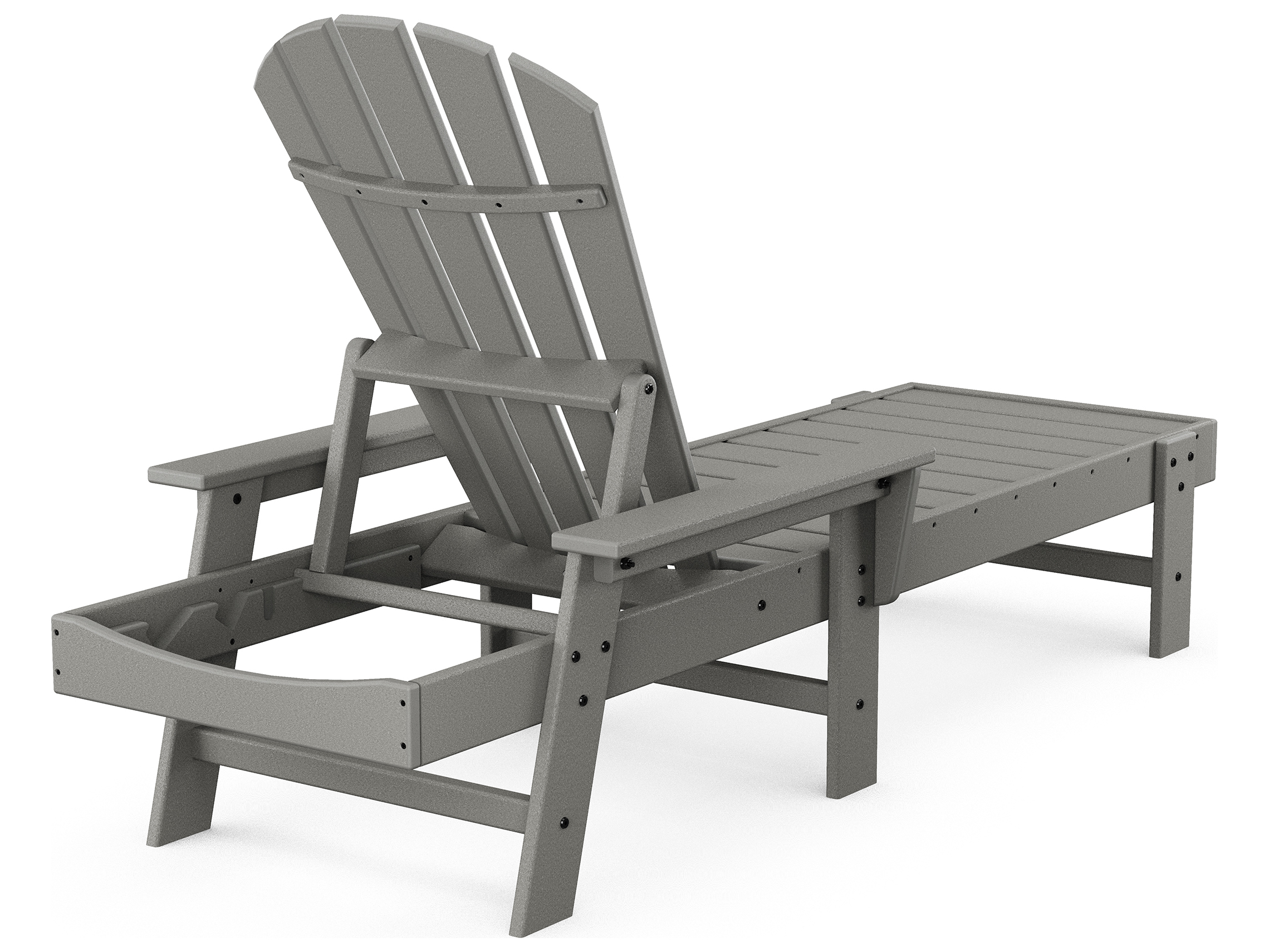 POLYWOOD® South Beach Recycled Plastic Chaise Lounge | SBC76